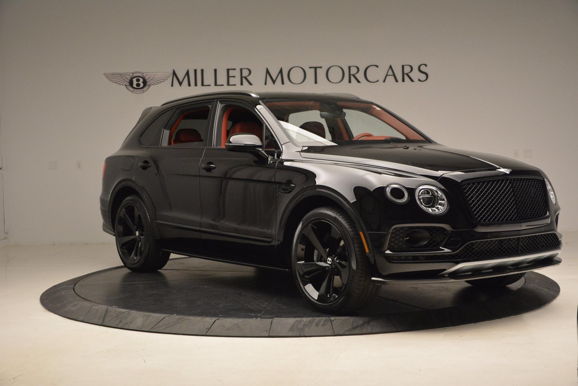New 2018 Bentley Bentayga Black Edition For Sale In Westport, CT 1418_p11