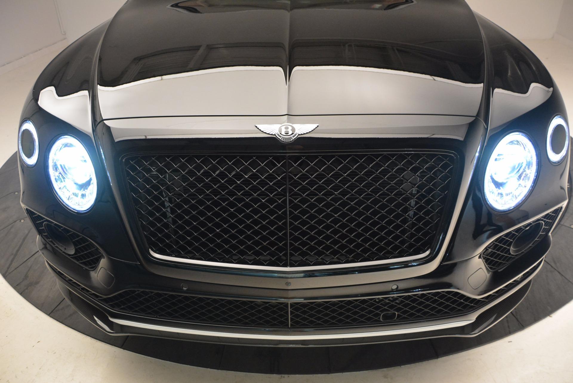 New 2018 Bentley Bentayga Black Edition For Sale In Westport, CT 1418_p15