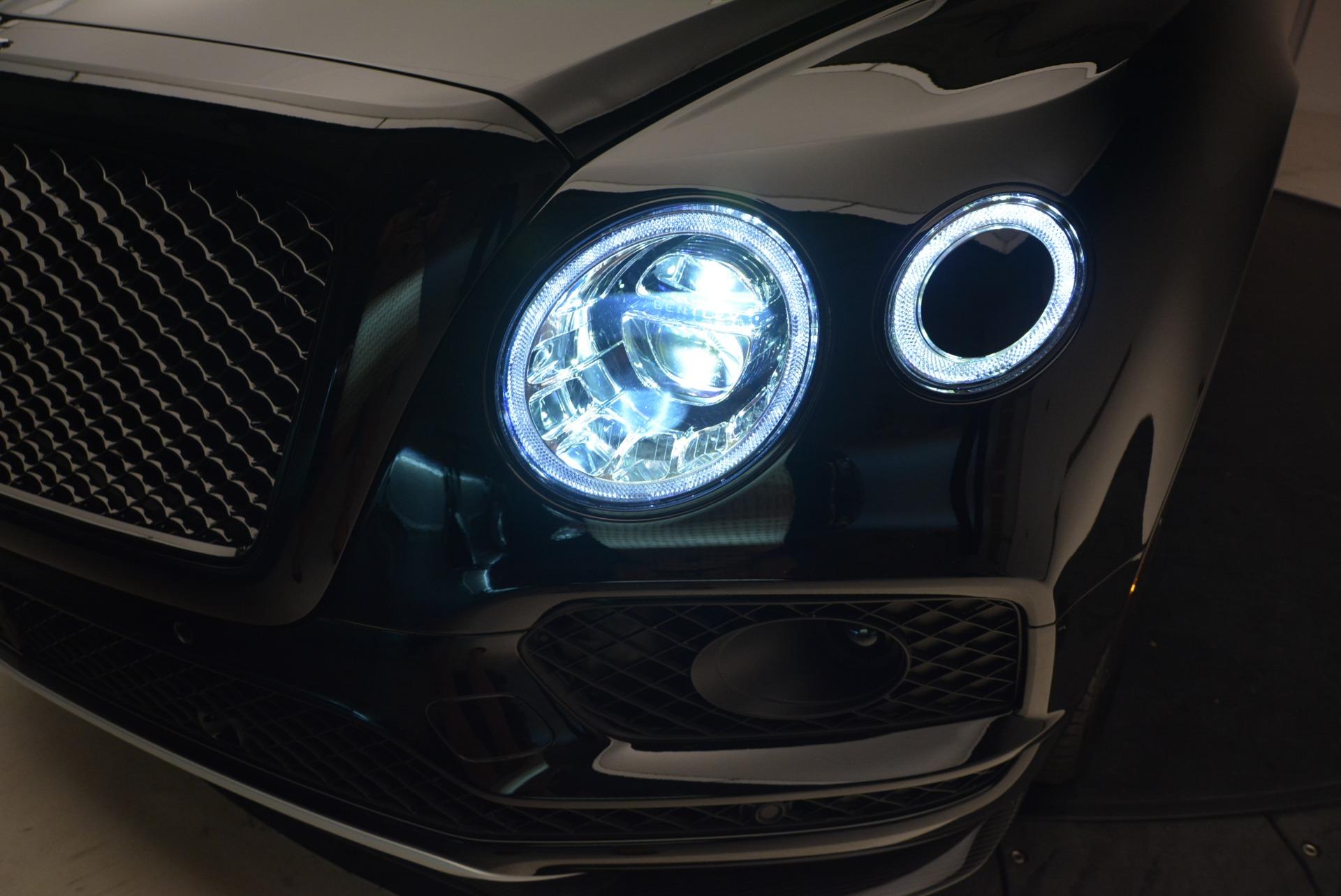 New 2018 Bentley Bentayga Black Edition For Sale In Westport, CT 1418_p17