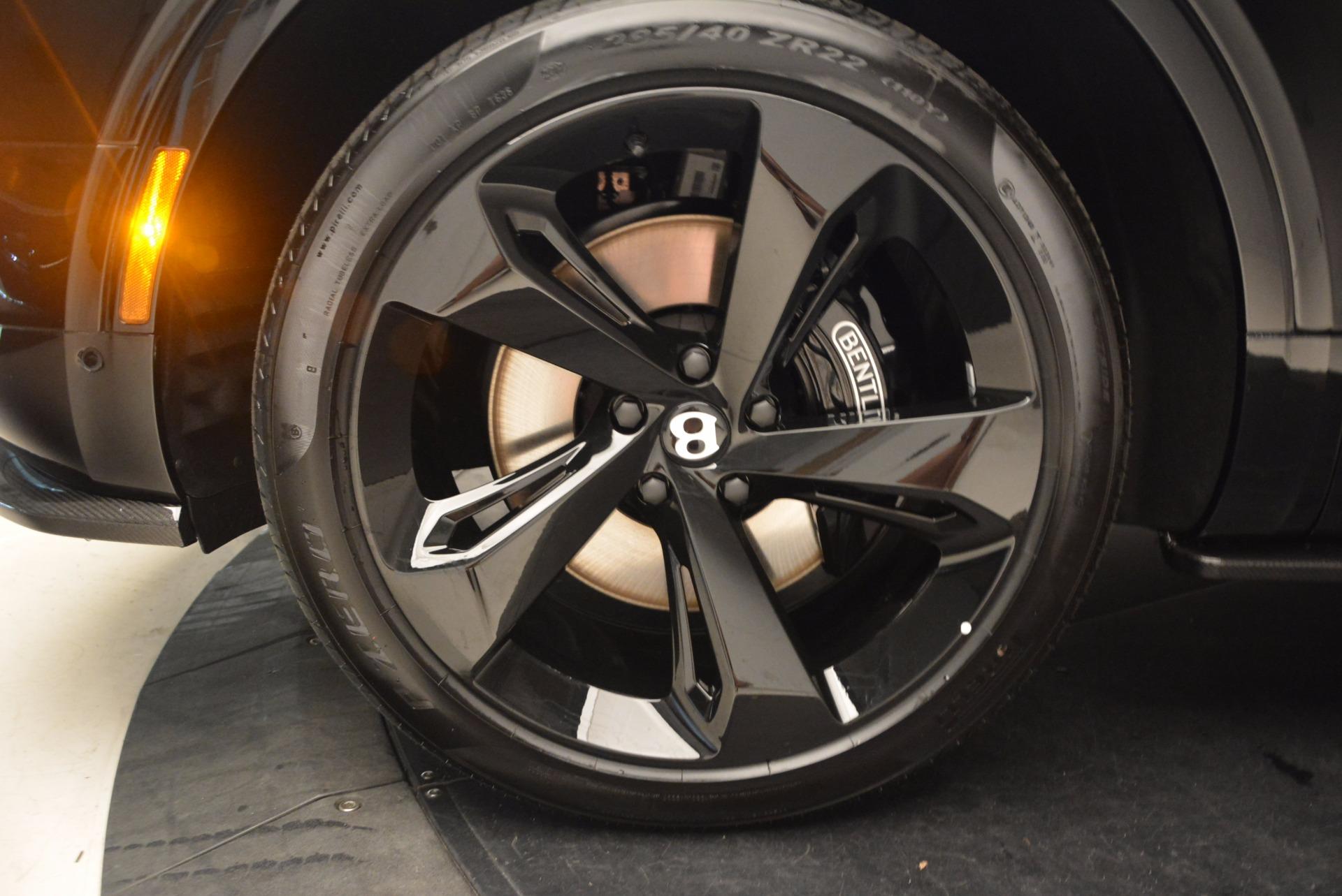New 2018 Bentley Bentayga Black Edition For Sale In Westport, CT 1418_p20
