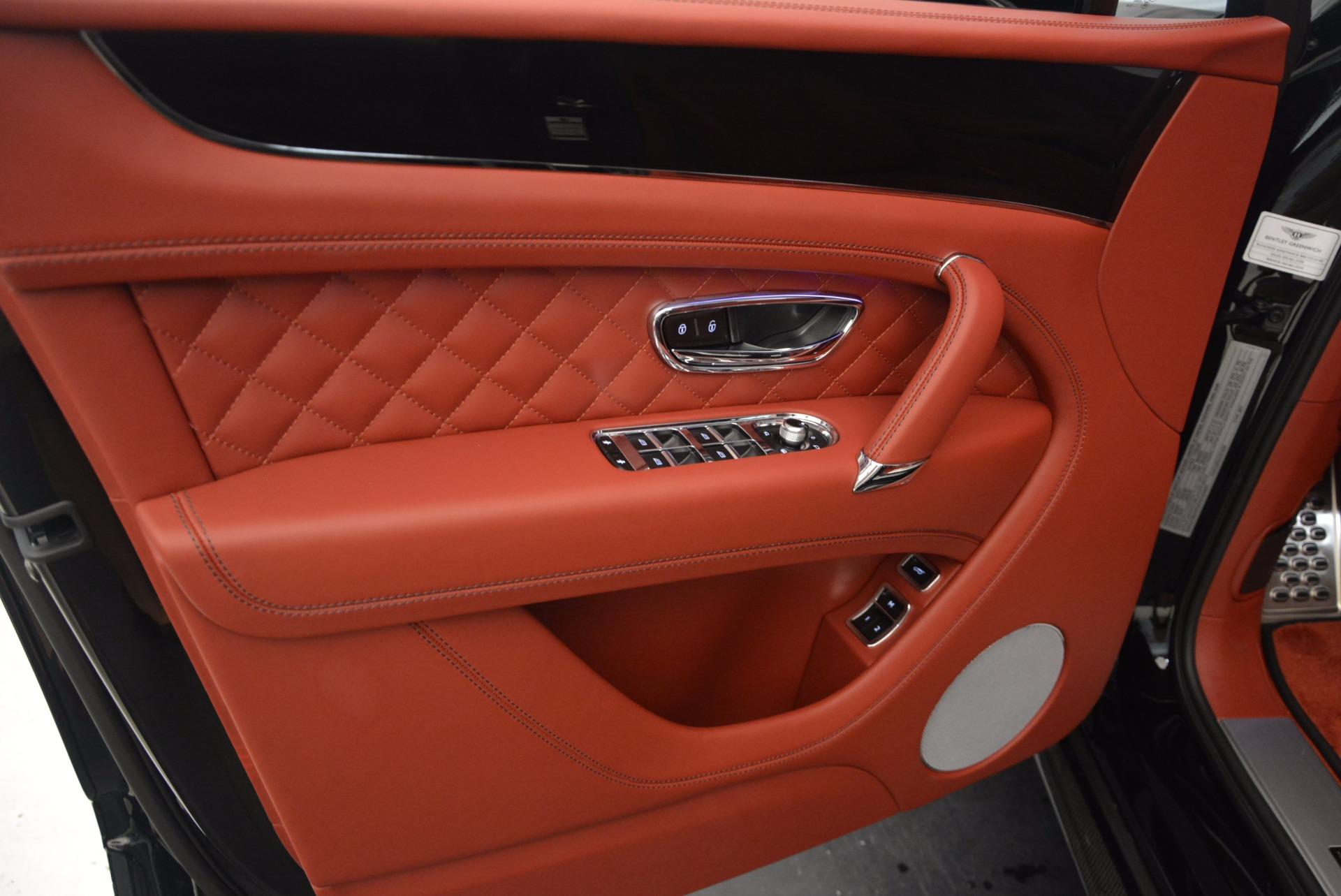 New 2018 Bentley Bentayga Black Edition For Sale In Westport, CT 1418_p26