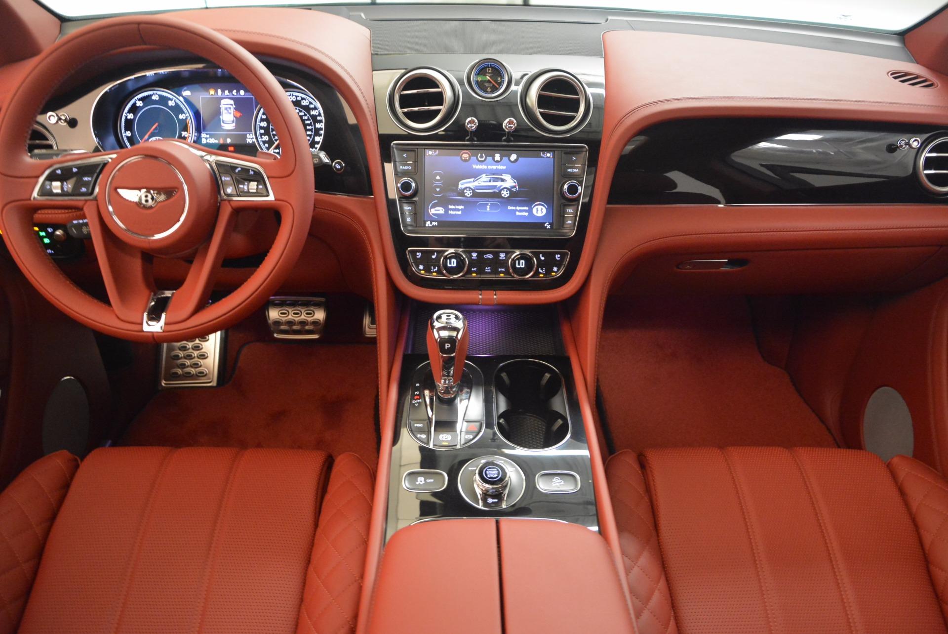 New 2018 Bentley Bentayga Black Edition For Sale In Westport, CT 1418_p36