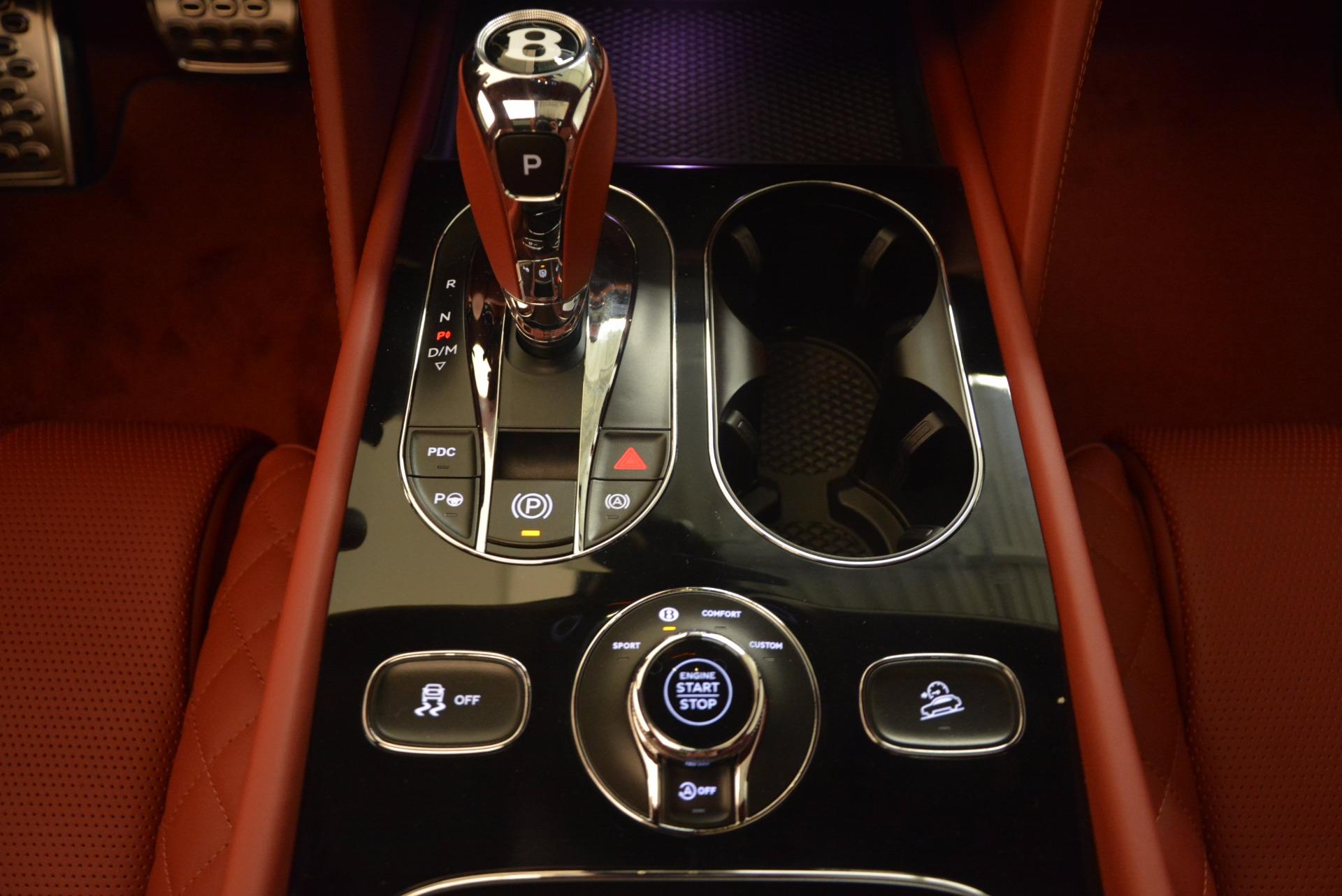 New 2018 Bentley Bentayga Black Edition For Sale In Westport, CT 1418_p40