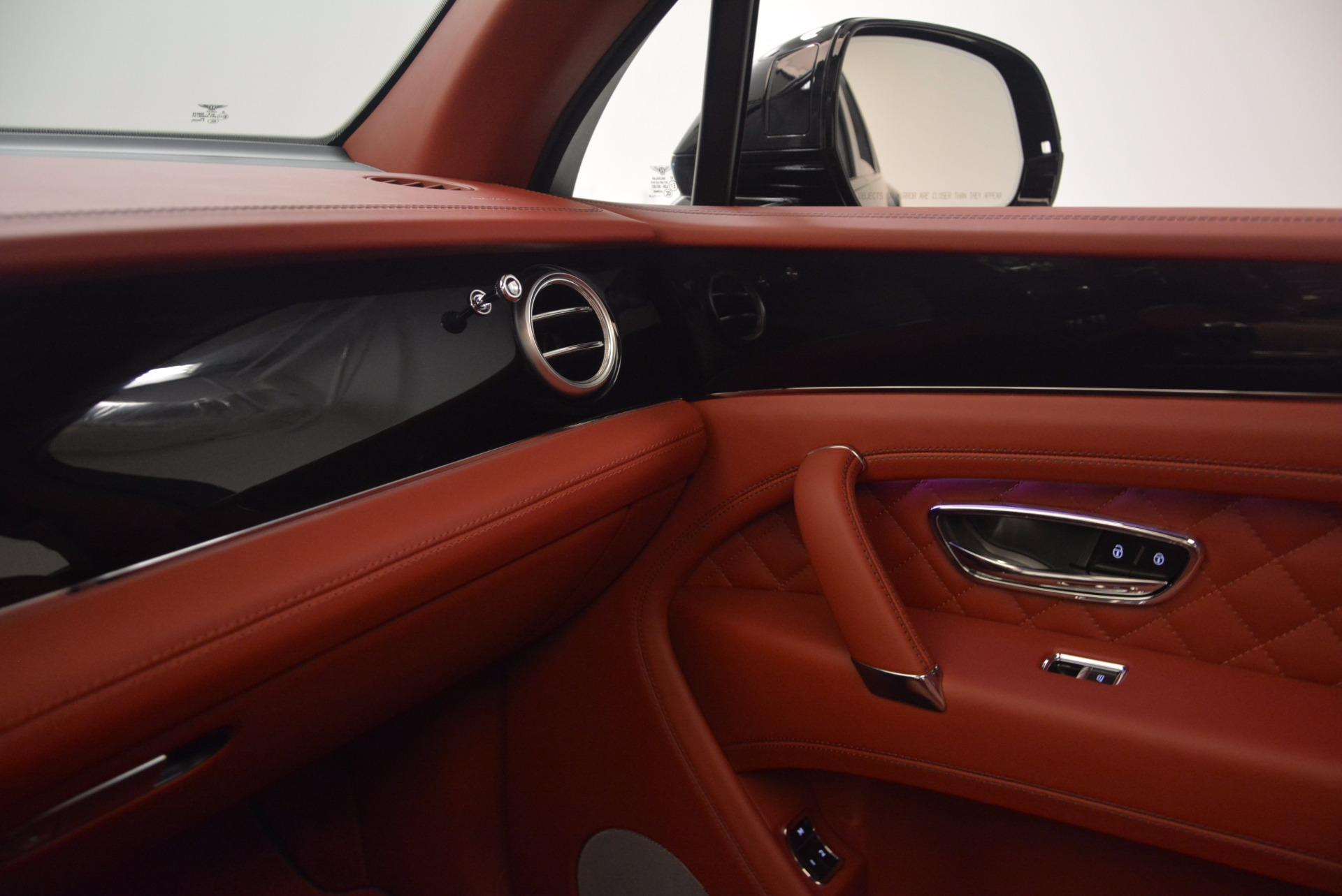 New 2018 Bentley Bentayga Black Edition For Sale In Westport, CT 1418_p41