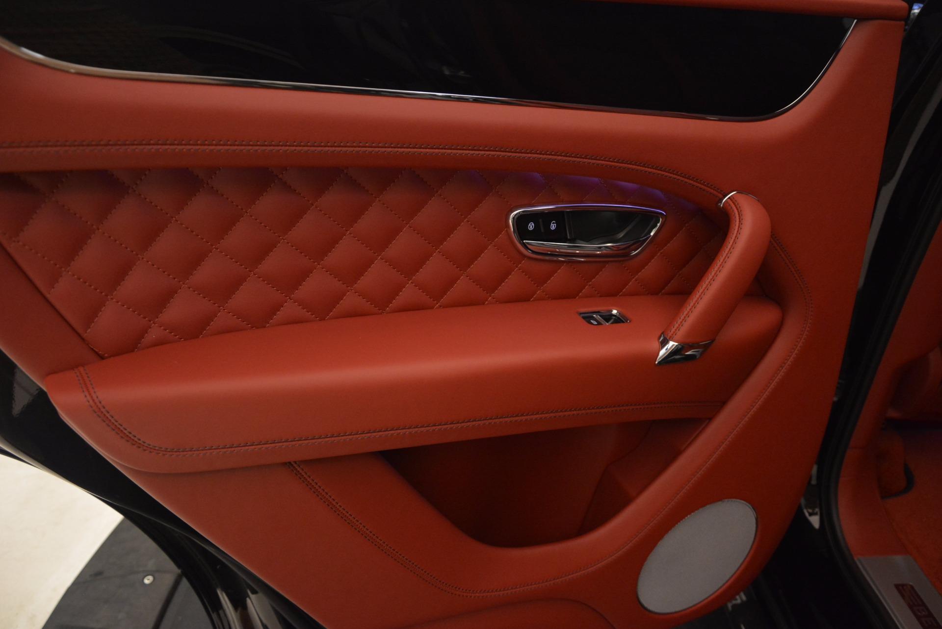 New 2018 Bentley Bentayga Black Edition For Sale In Westport, CT 1418_p42