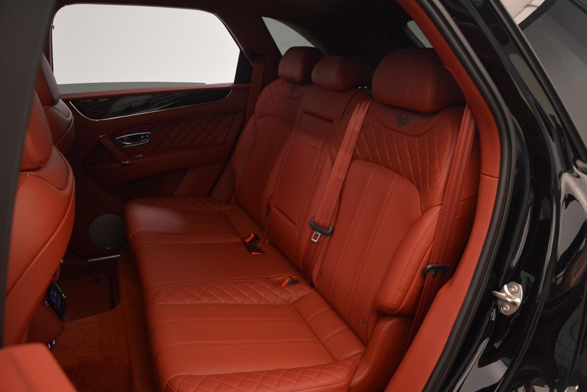 New 2018 Bentley Bentayga Black Edition For Sale In Westport, CT 1418_p45