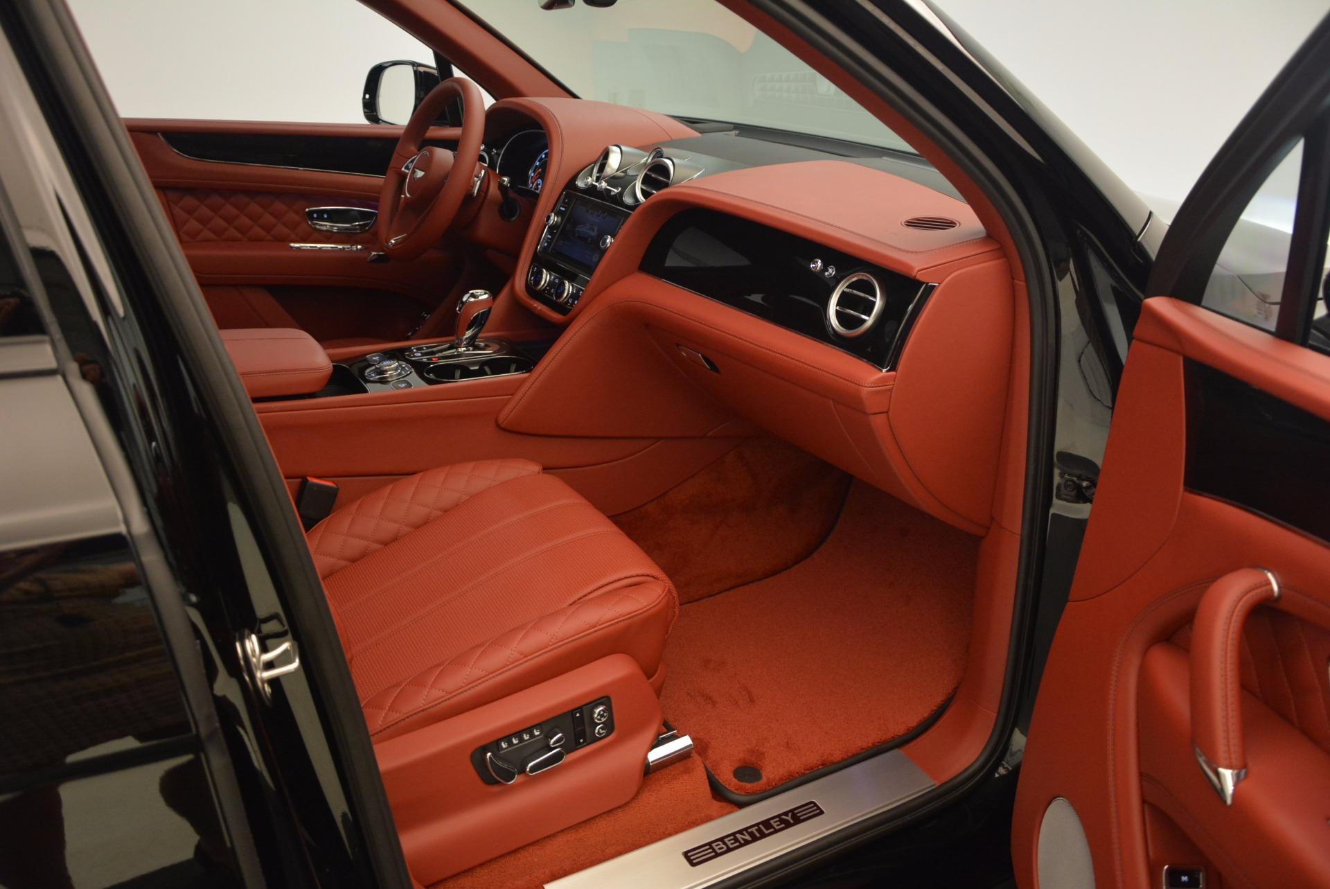 New 2018 Bentley Bentayga Black Edition For Sale In Westport, CT 1418_p48
