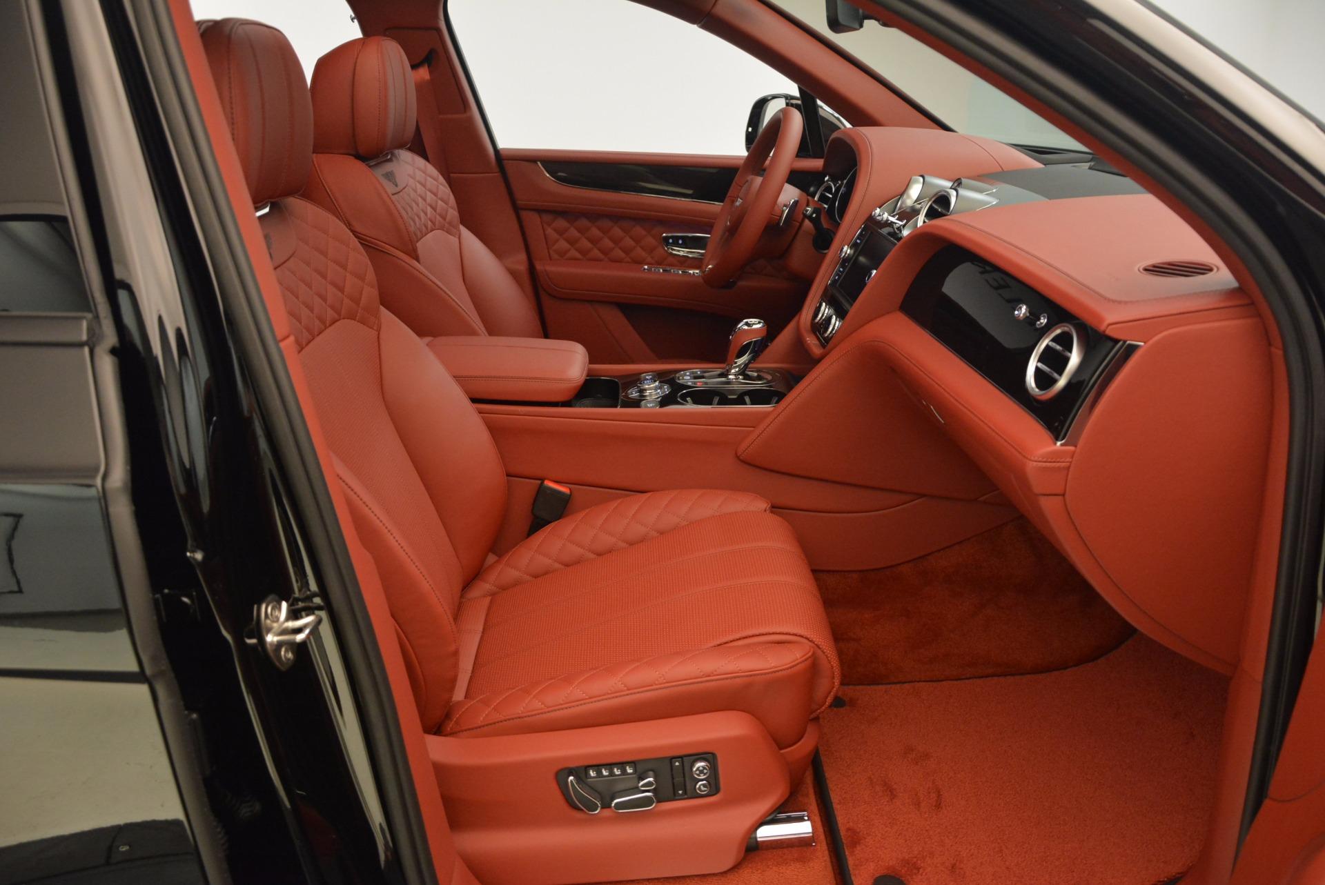 New 2018 Bentley Bentayga Black Edition For Sale In Westport, CT 1418_p49
