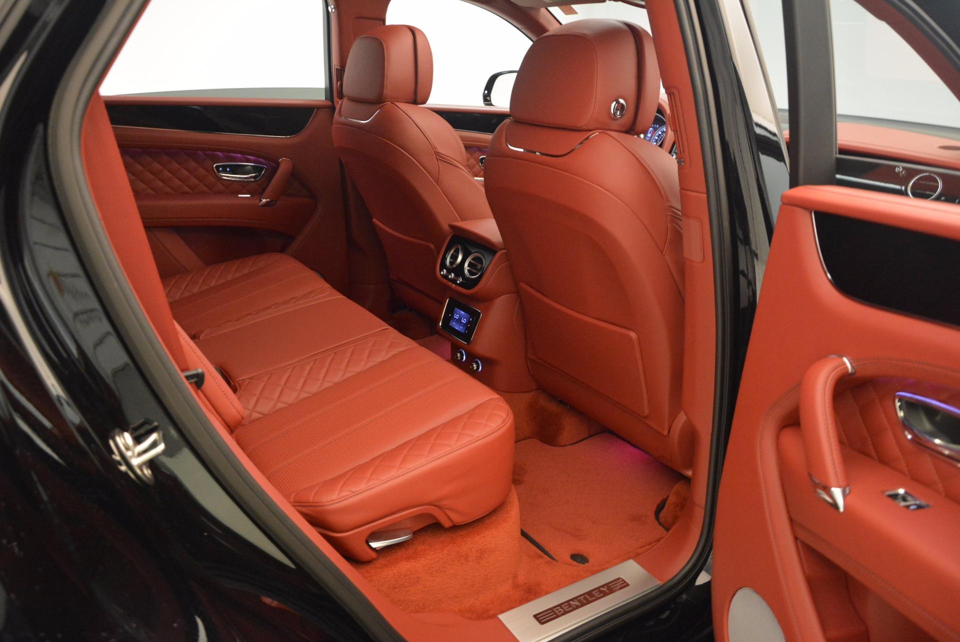 New 2018 Bentley Bentayga Black Edition For Sale In Westport, CT 1418_p51