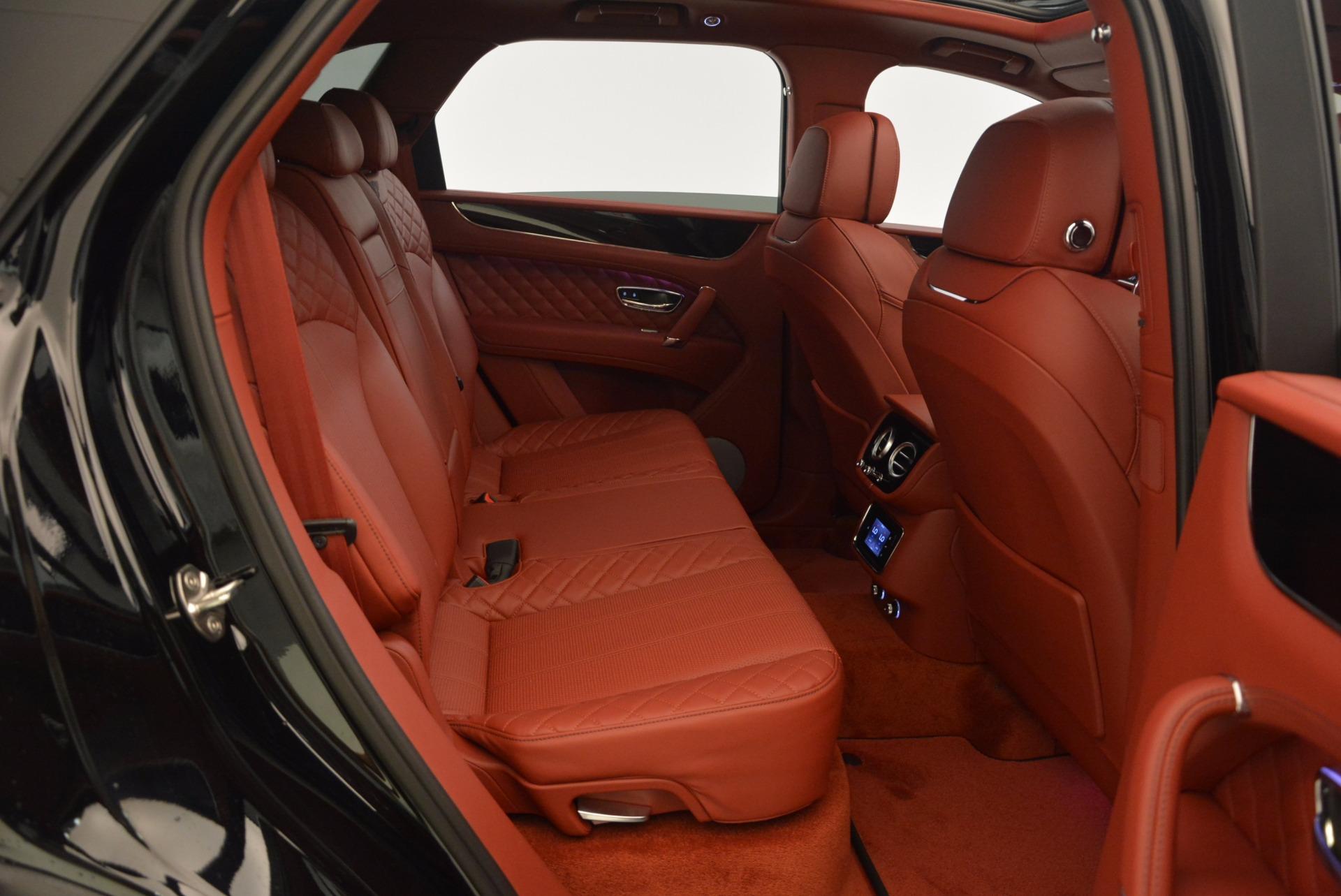 New 2018 Bentley Bentayga Black Edition For Sale In Westport, CT 1418_p52