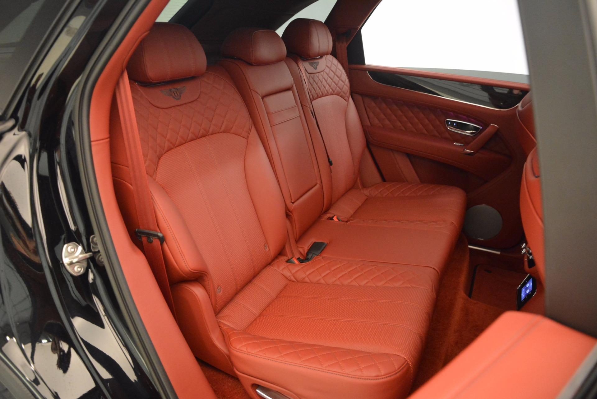 New 2018 Bentley Bentayga Black Edition For Sale In Westport, CT 1418_p53