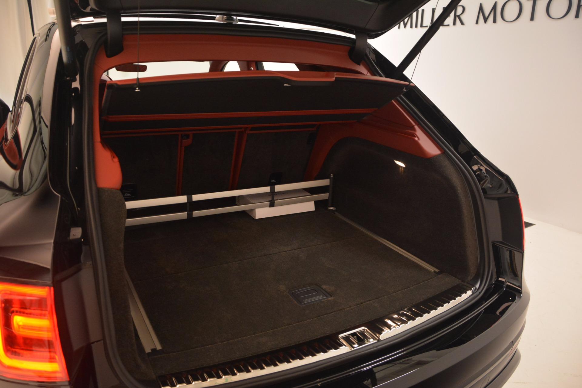 New 2018 Bentley Bentayga Black Edition For Sale In Westport, CT 1418_p54