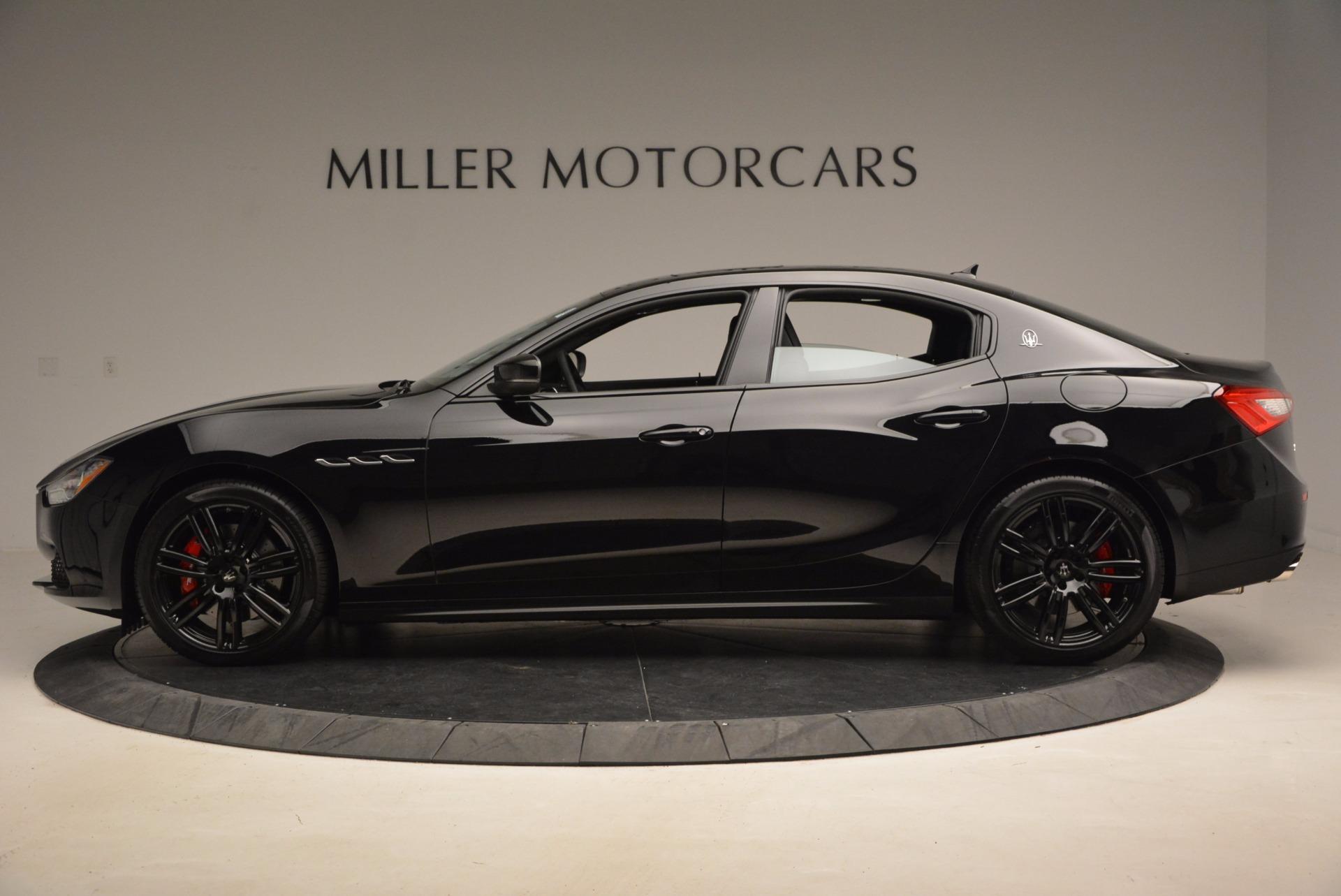 New 2017 Maserati Ghibli Nerissimo Edition S Q4 For Sale In Westport, CT 1419_p3
