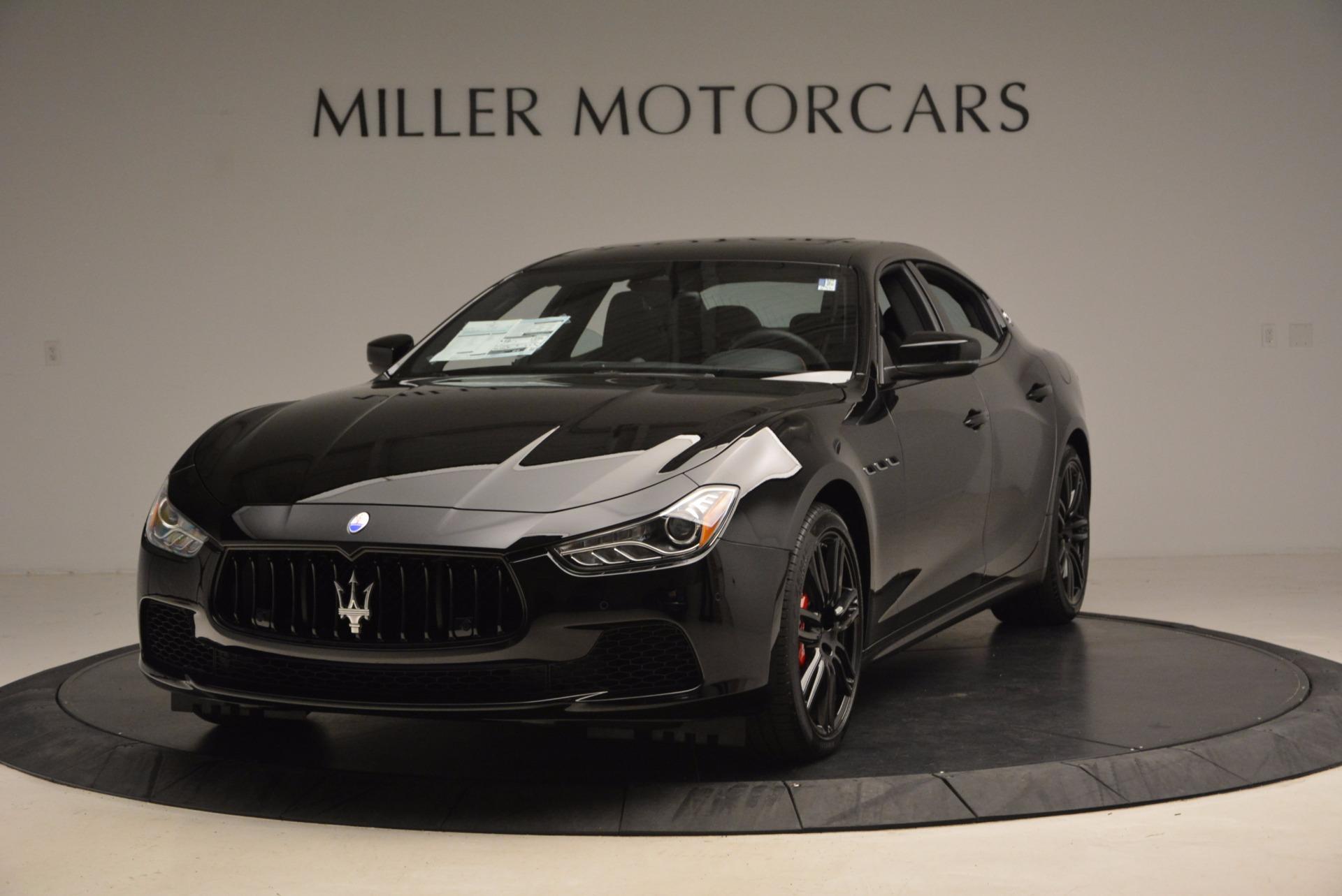 New 2017 Maserati Ghibli Nerissimo Edition S Q4 For Sale In Westport, CT 1420_main