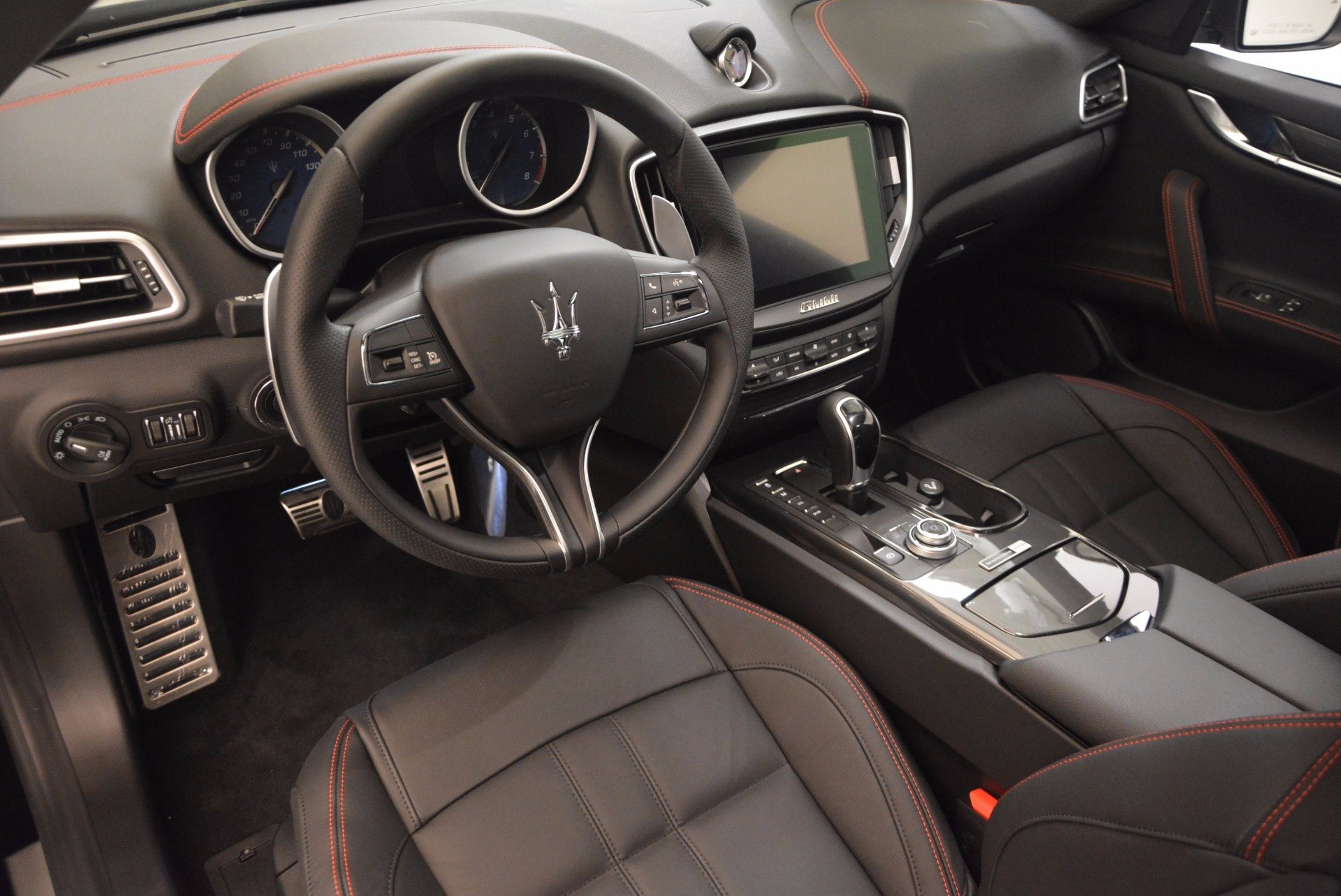New 2017 Maserati Ghibli Nerissimo Edition S Q4 For Sale In Westport, CT 1420_p13