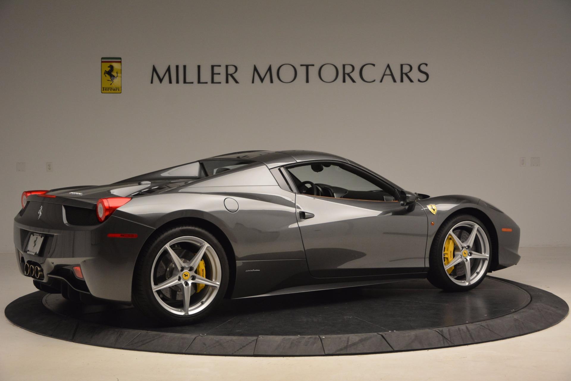 Used 2015 Ferrari 458 Spider  For Sale In Westport, CT 1423_p20