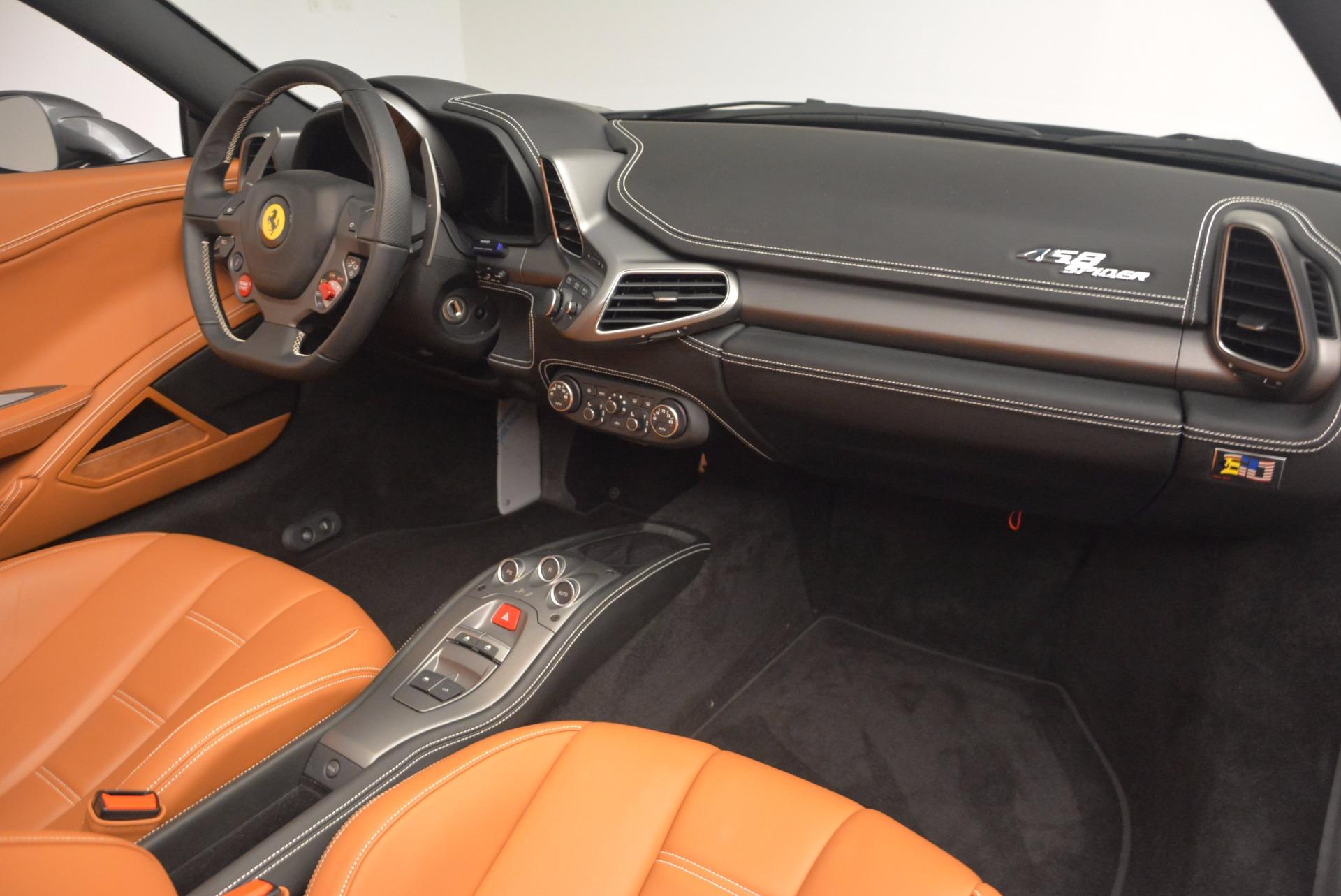 Used 2015 Ferrari 458 Spider  For Sale In Westport, CT 1423_p29