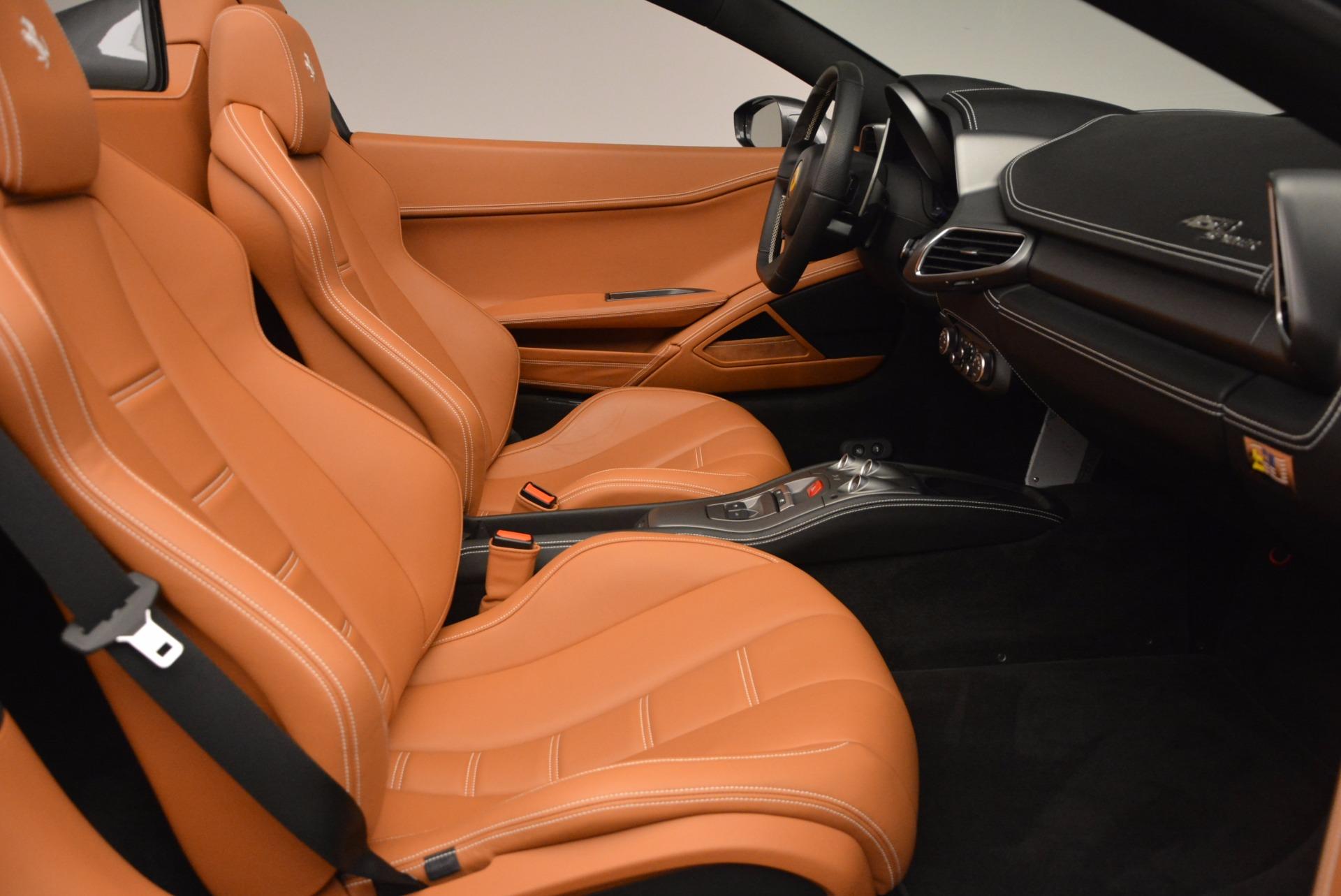 Used 2015 Ferrari 458 Spider  For Sale In Westport, CT 1423_p30