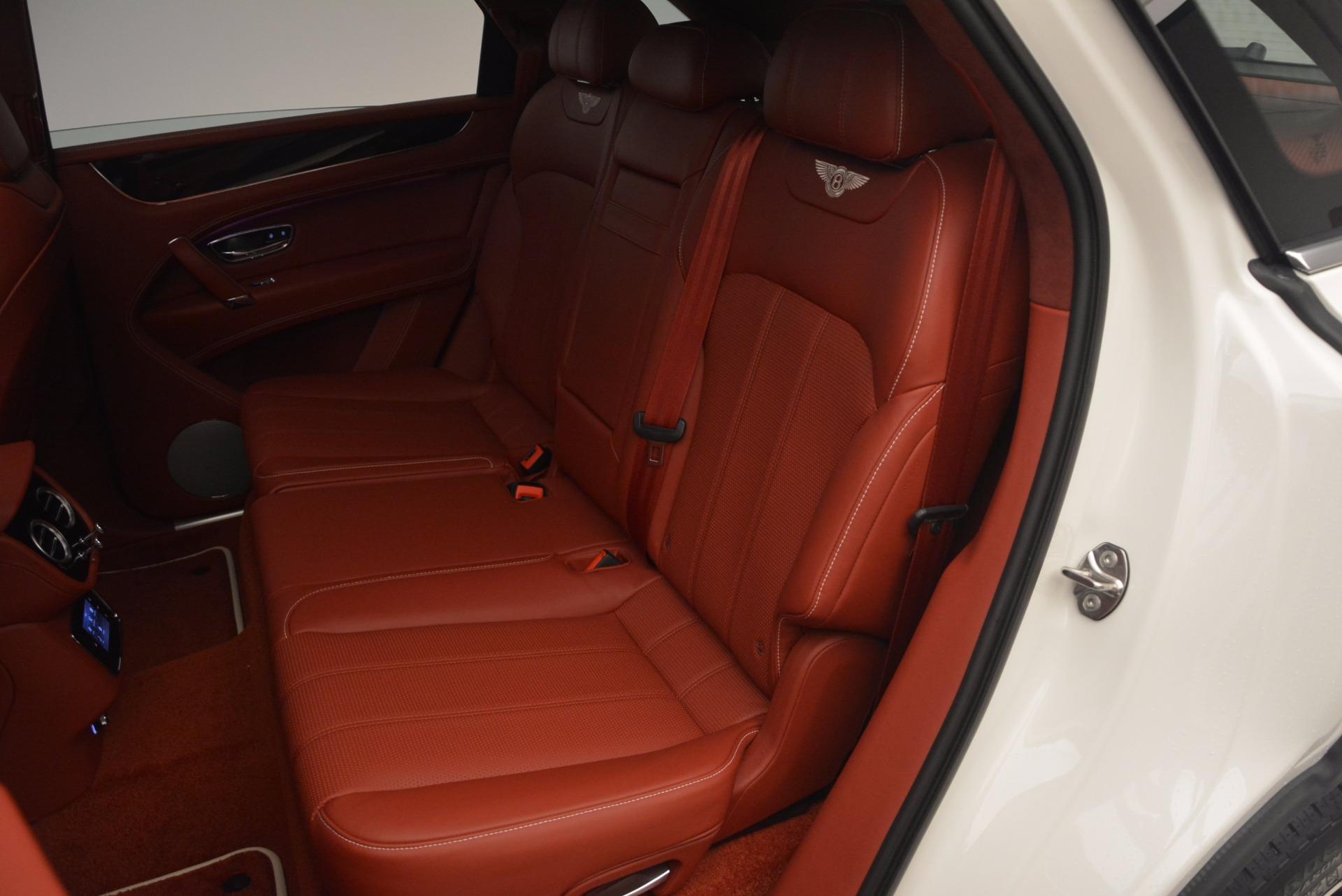 New 2018 Bentley Bentayga Onyx For Sale In Westport, CT 1425_p34