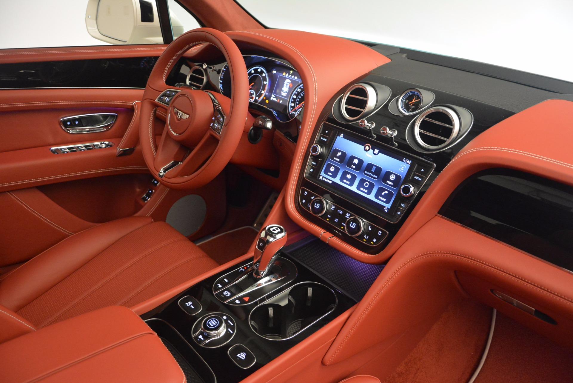 New 2018 Bentley Bentayga Onyx For Sale In Westport, CT 1425_p46
