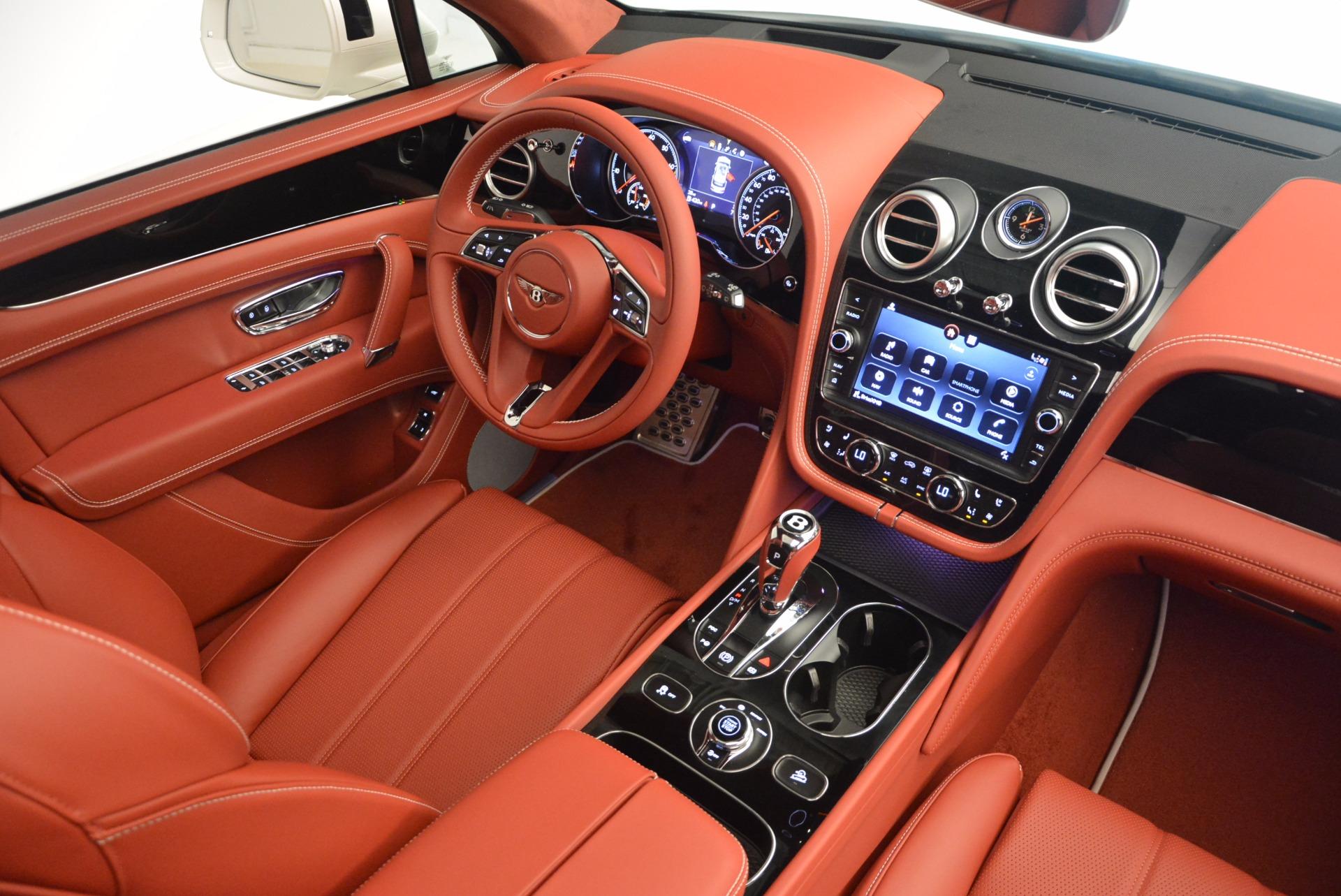 New 2018 Bentley Bentayga Onyx For Sale In Westport, CT 1425_p47