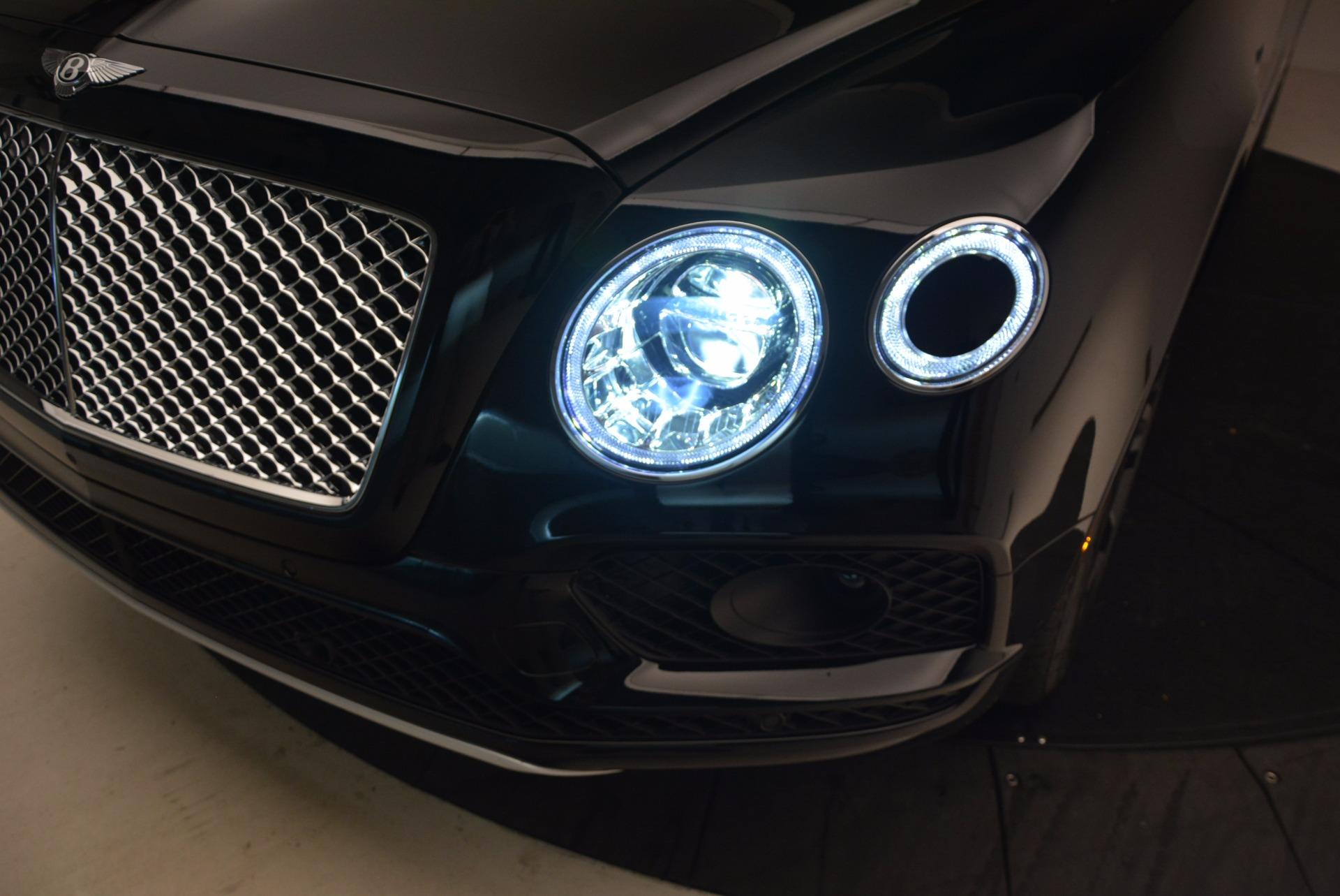 New 2018 Bentley Bentayga Onyx For Sale In Westport, CT 1428_p17