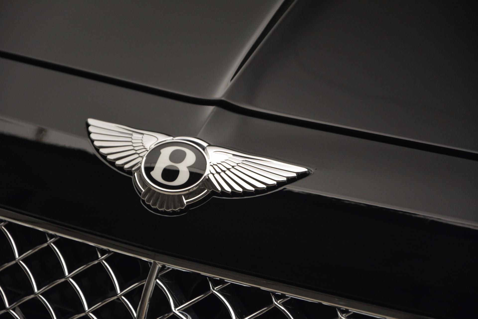 New 2018 Bentley Bentayga Onyx For Sale In Westport, CT 1428_p18