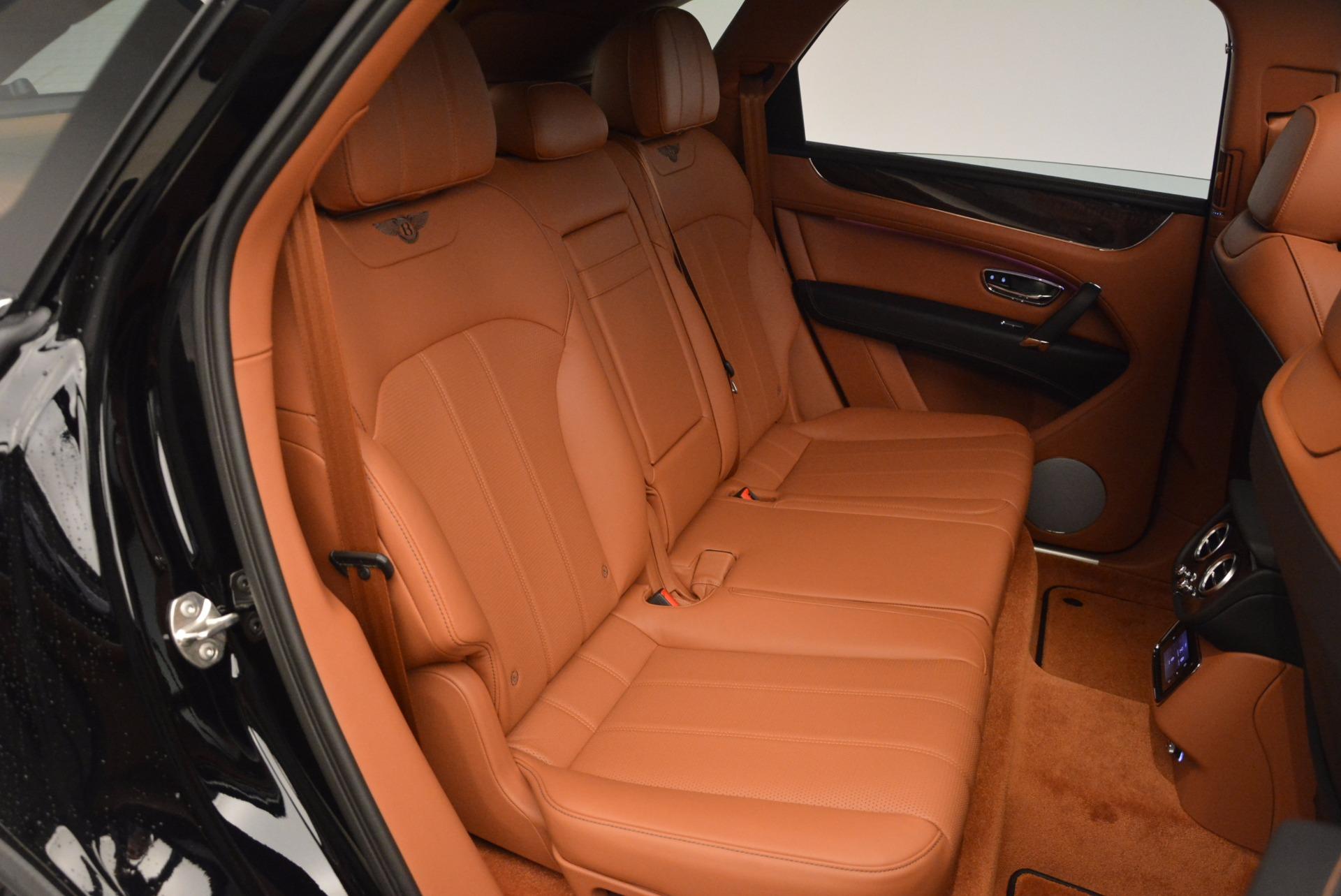 New 2018 Bentley Bentayga Onyx For Sale In Westport, CT 1428_p36