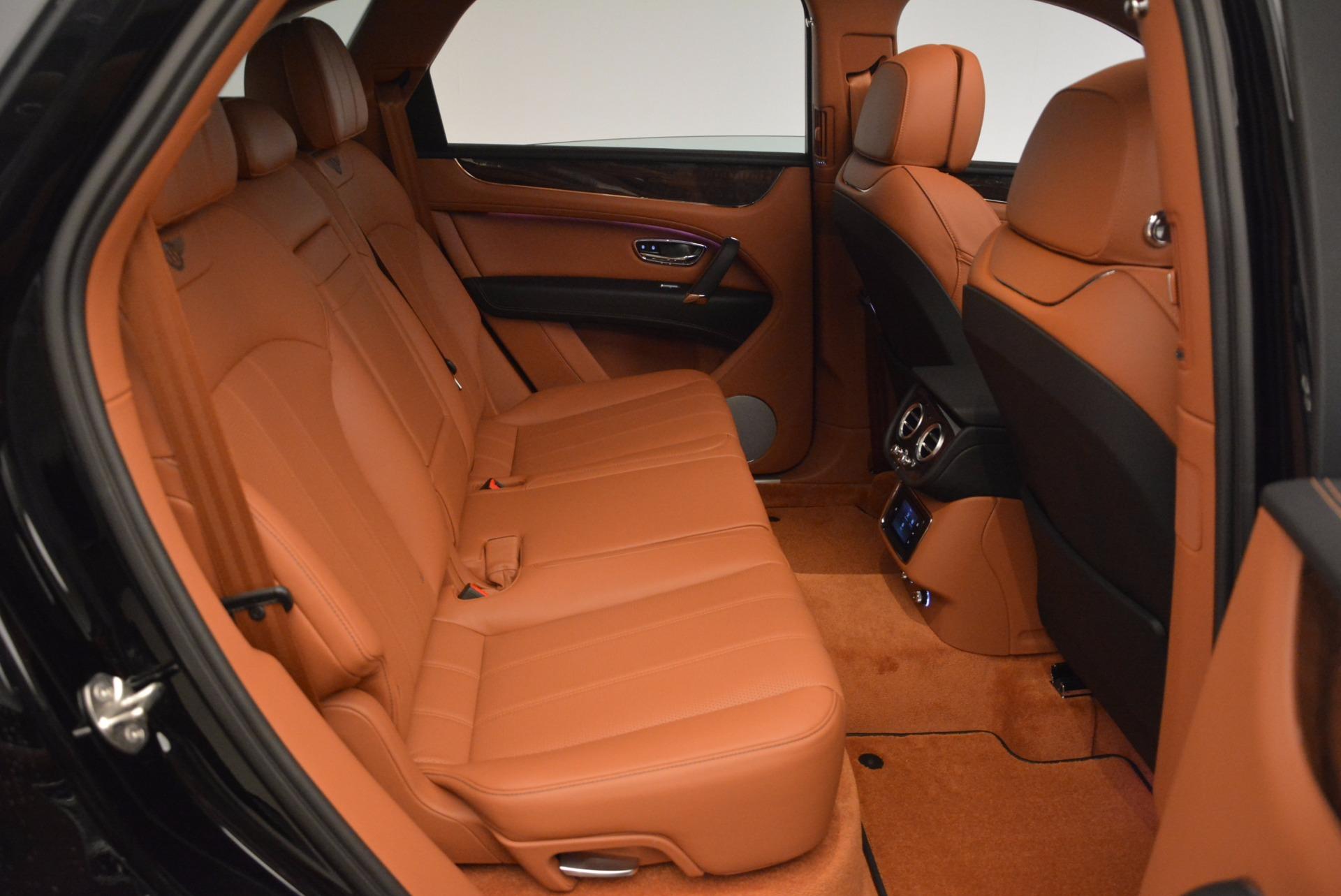 New 2018 Bentley Bentayga Onyx For Sale In Westport, CT 1428_p37