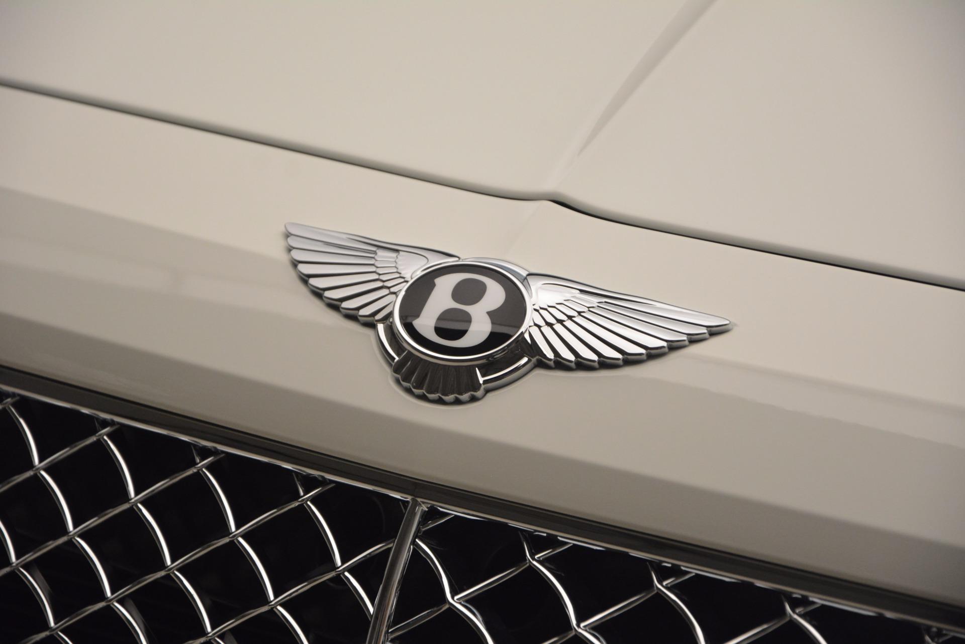 New 2018 Bentley Bentayga Onyx Edition For Sale In Westport, CT 1429_p18