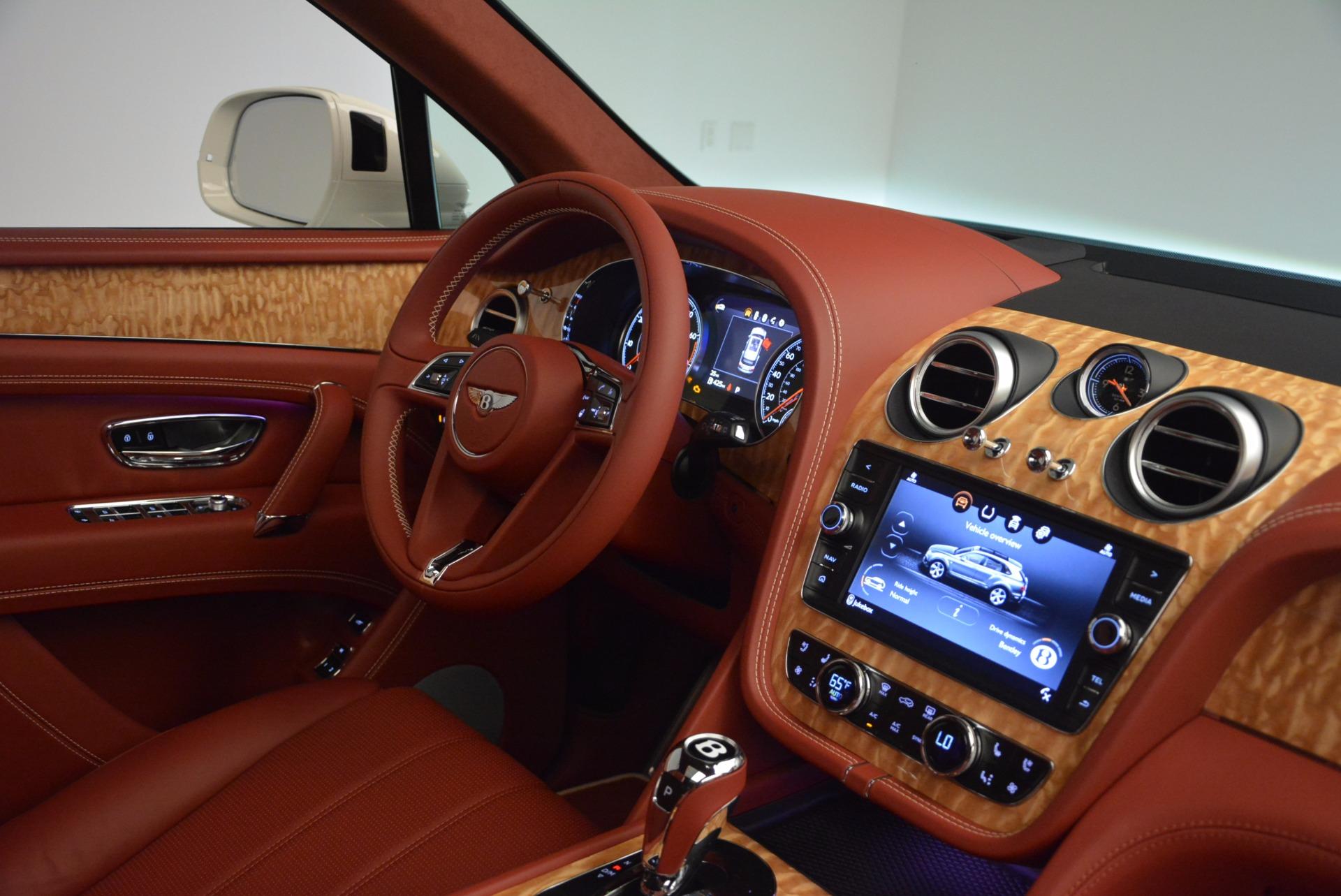 New 2018 Bentley Bentayga Onyx Edition For Sale In Westport, CT 1429_p43