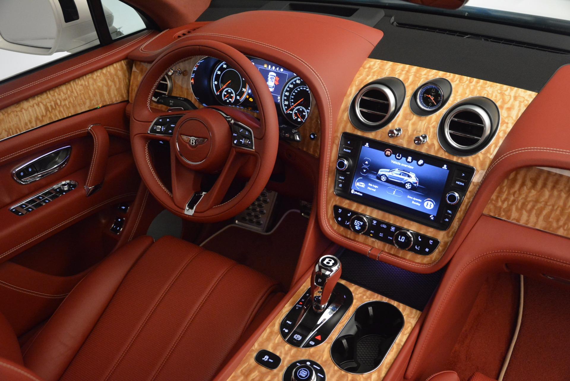 New 2018 Bentley Bentayga Onyx Edition For Sale In Westport, CT 1429_p44
