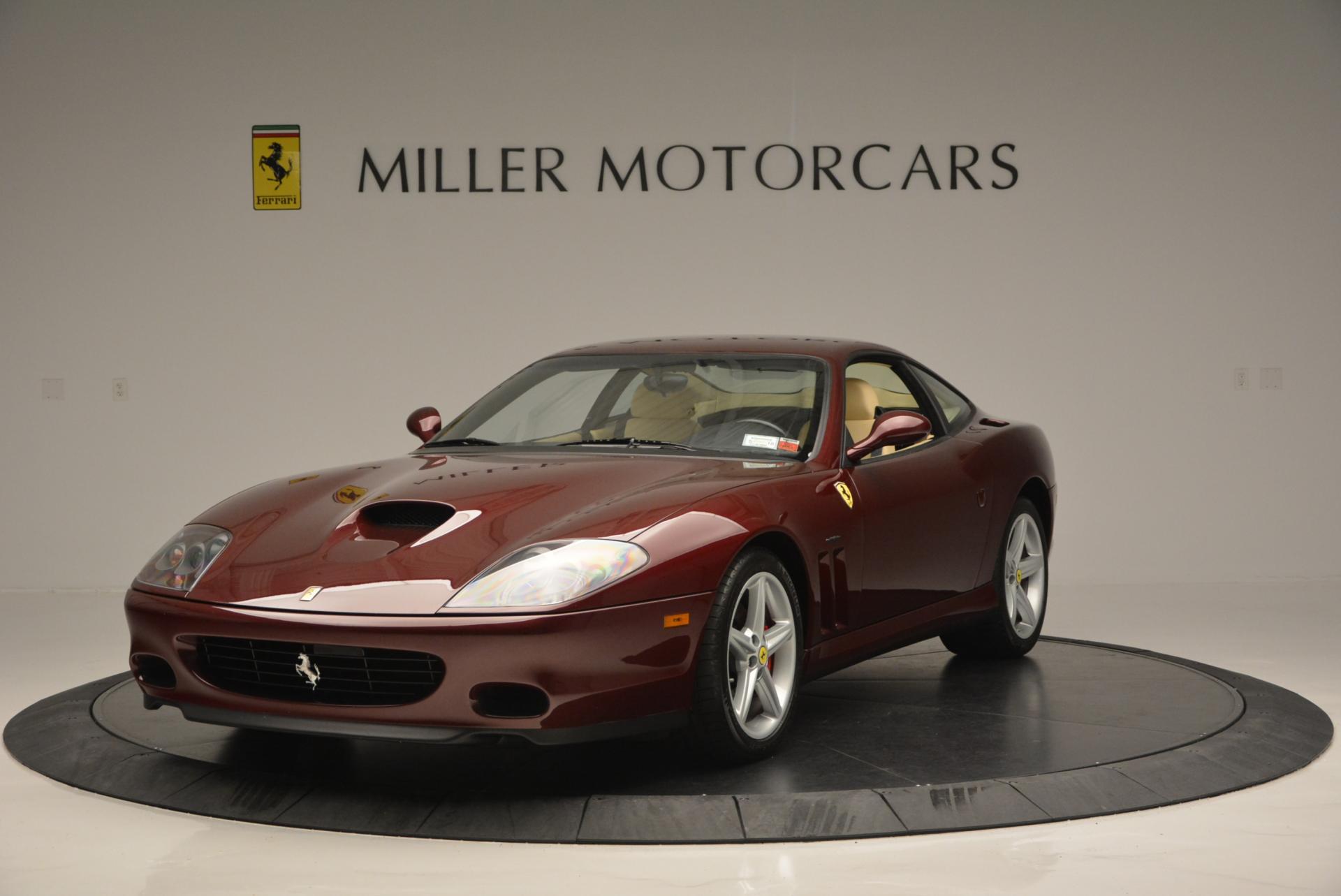 Used 2003 Ferrari 575M Maranello 6-Speed Manual For Sale In Westport, CT 143_main