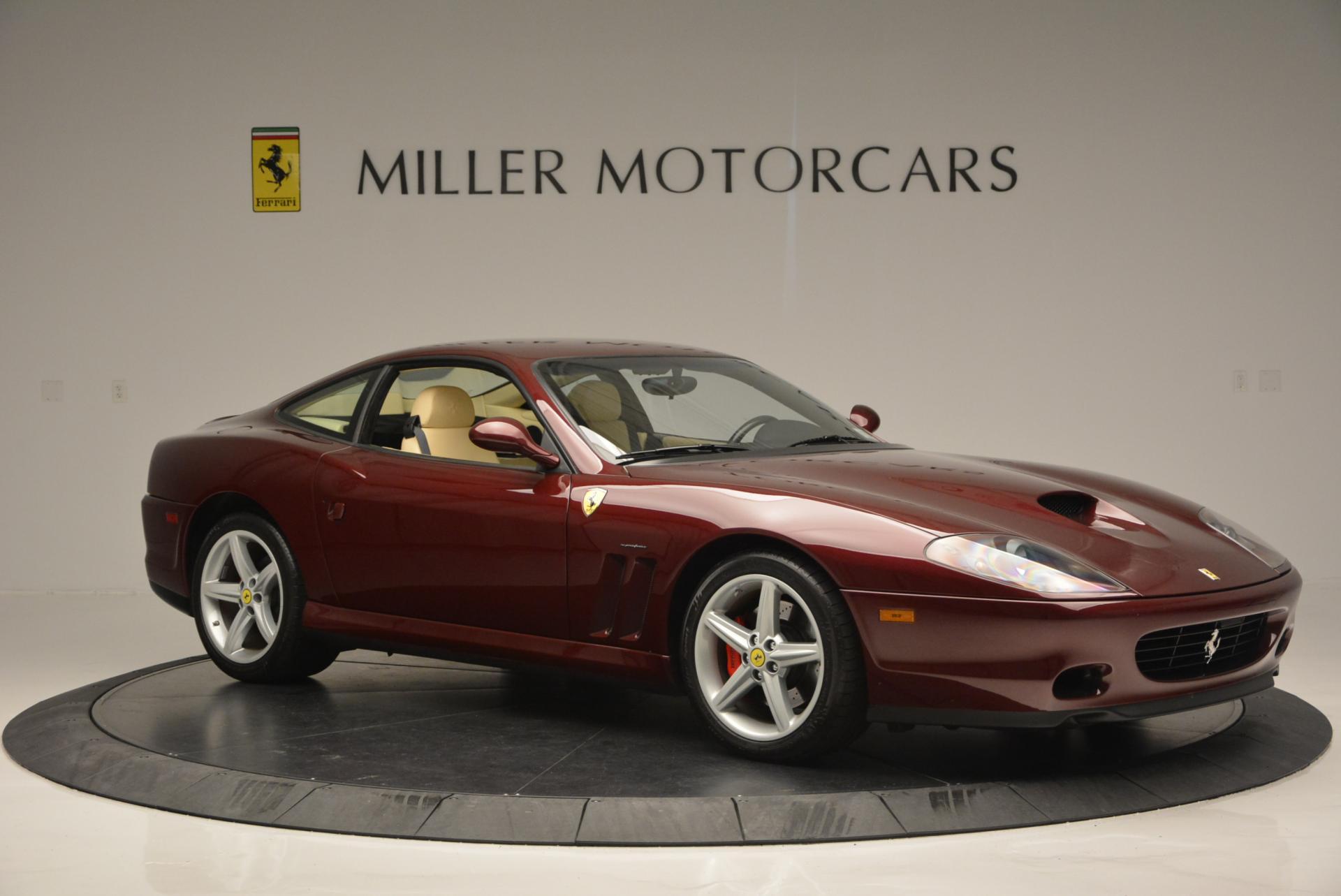 Used 2003 Ferrari 575M Maranello 6-Speed Manual For Sale In Westport, CT 143_p10
