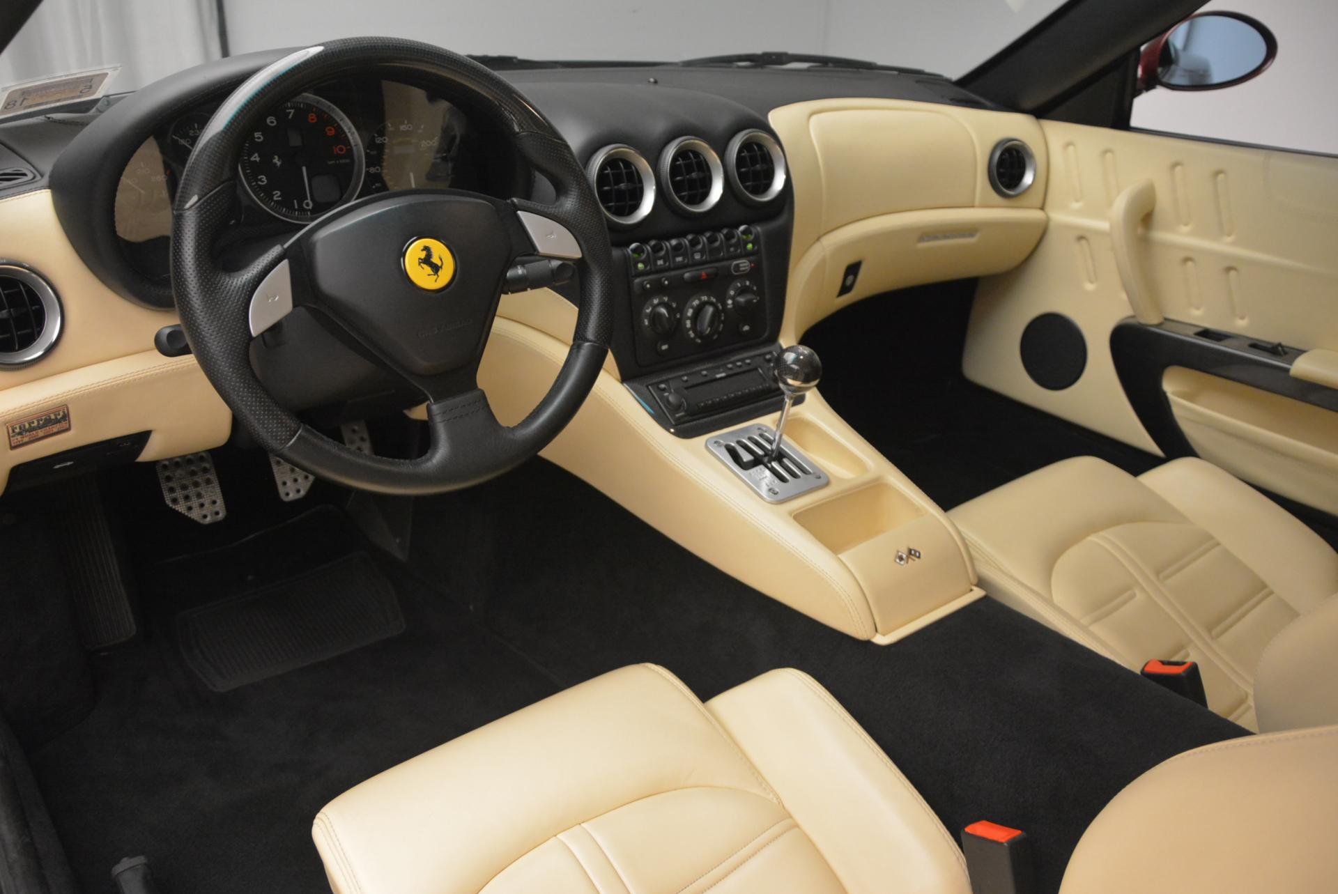 Used 2003 Ferrari 575M Maranello 6-Speed Manual For Sale In Westport, CT 143_p13