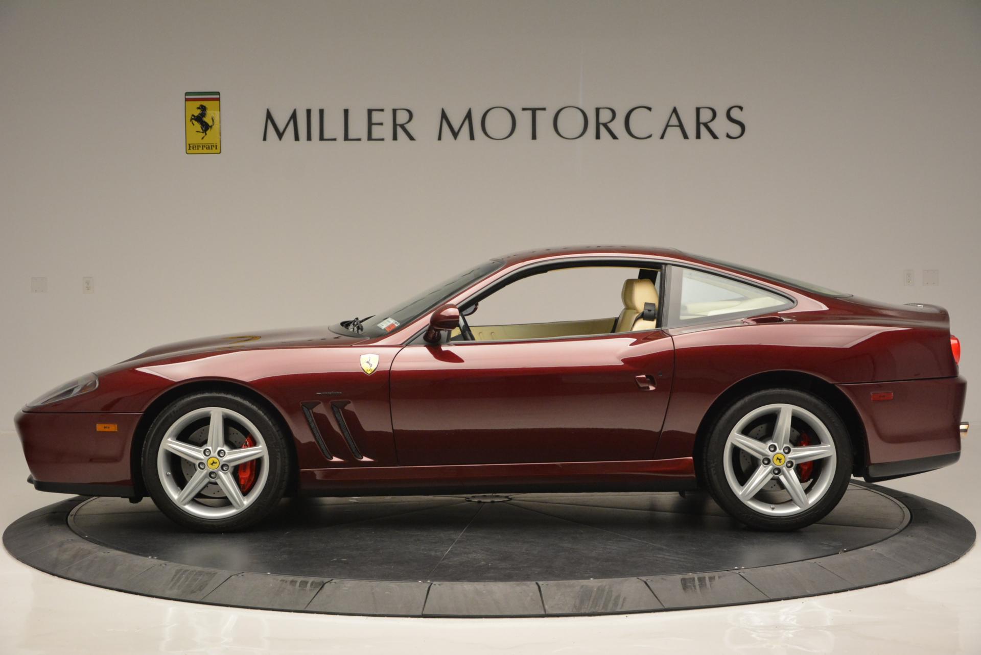 Used 2003 Ferrari 575M Maranello 6-Speed Manual For Sale In Westport, CT 143_p3