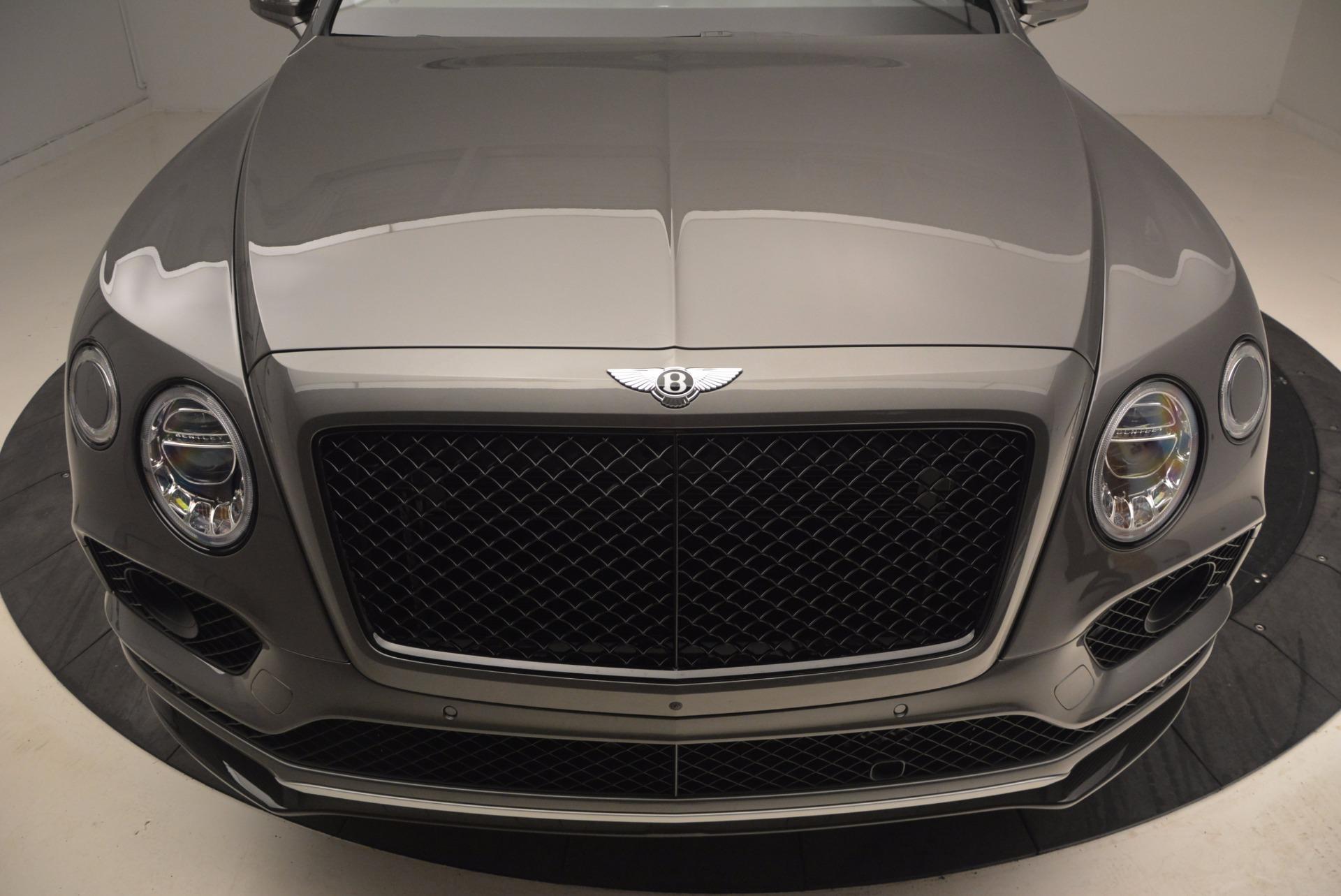 New 2018 Bentley Bentayga Black Edition For Sale In Westport, CT 1431_p15
