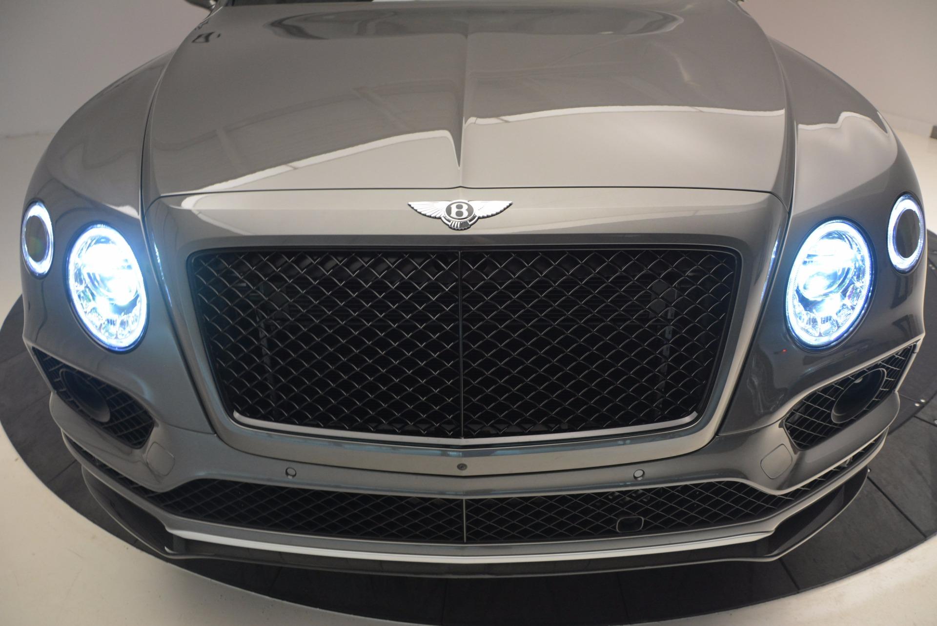 New 2018 Bentley Bentayga Black Edition For Sale In Westport, CT 1431_p16