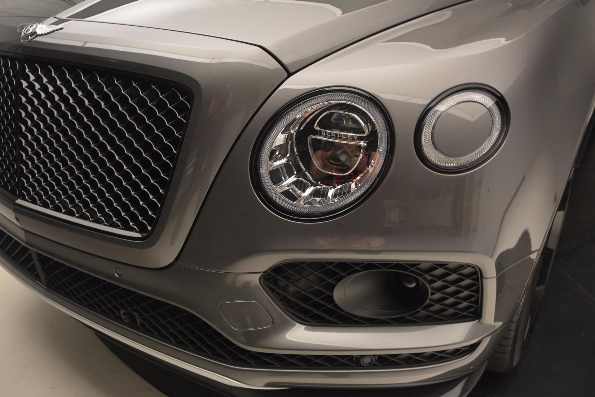 New 2018 Bentley Bentayga Black Edition For Sale In Westport, CT 1431_p17