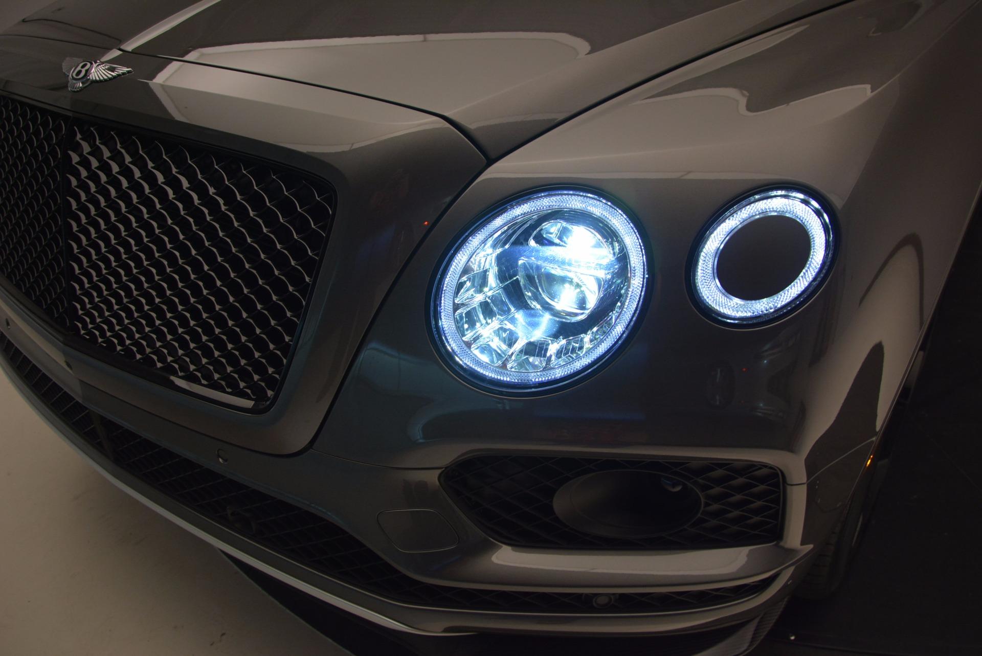 New 2018 Bentley Bentayga Black Edition For Sale In Westport, CT 1431_p18