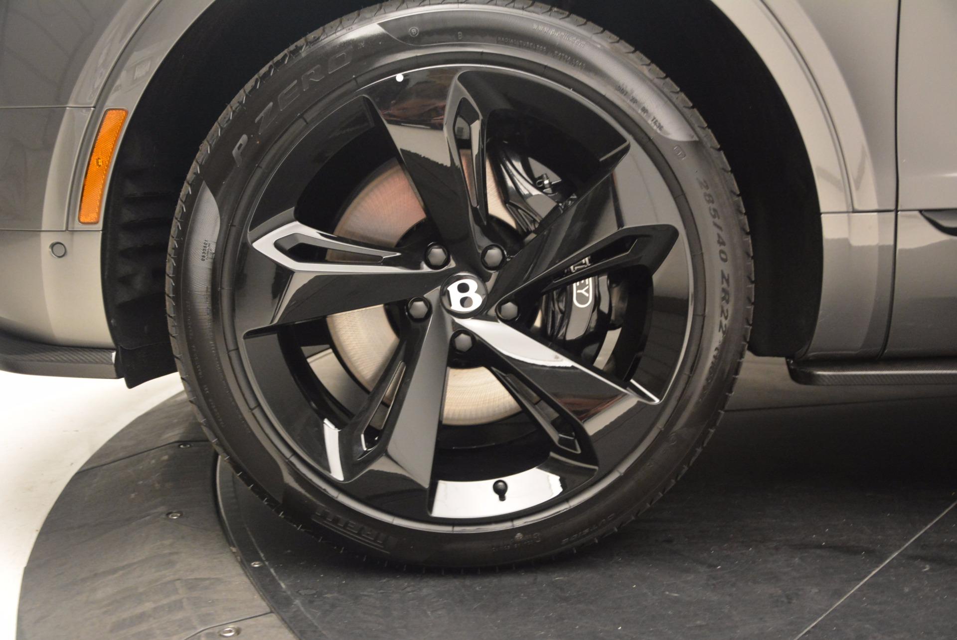 New 2018 Bentley Bentayga Black Edition For Sale In Westport, CT 1431_p19