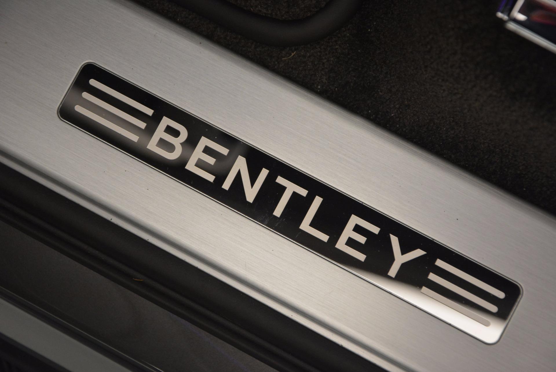 New 2018 Bentley Bentayga Black Edition For Sale In Westport, CT 1431_p23