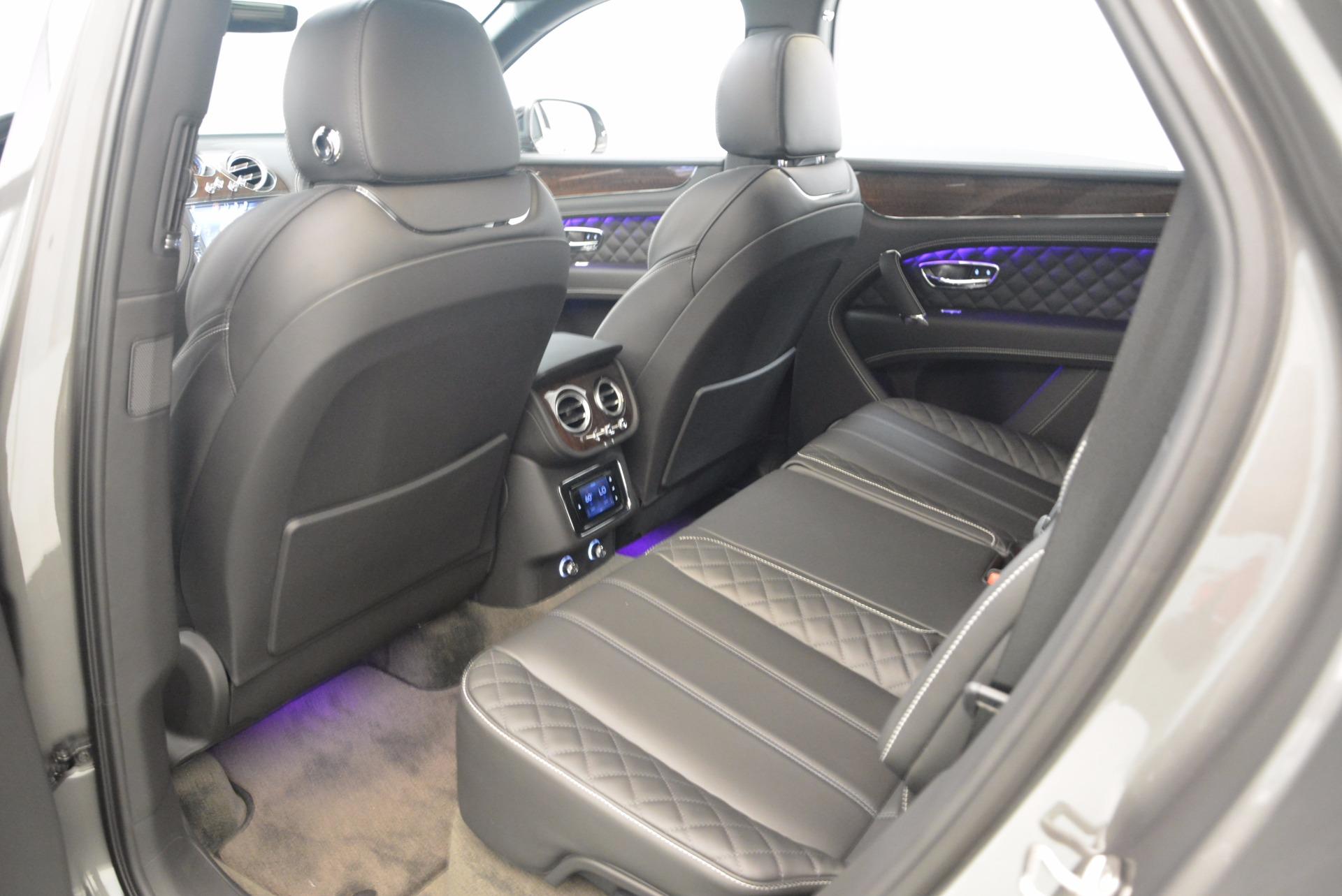 New 2018 Bentley Bentayga Black Edition For Sale In Westport, CT 1431_p27