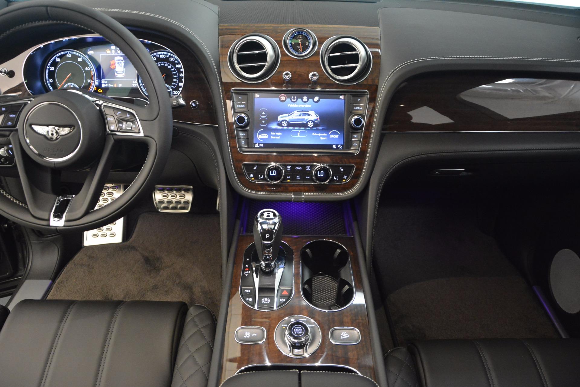 New 2018 Bentley Bentayga Black Edition For Sale In Westport, CT 1431_p30