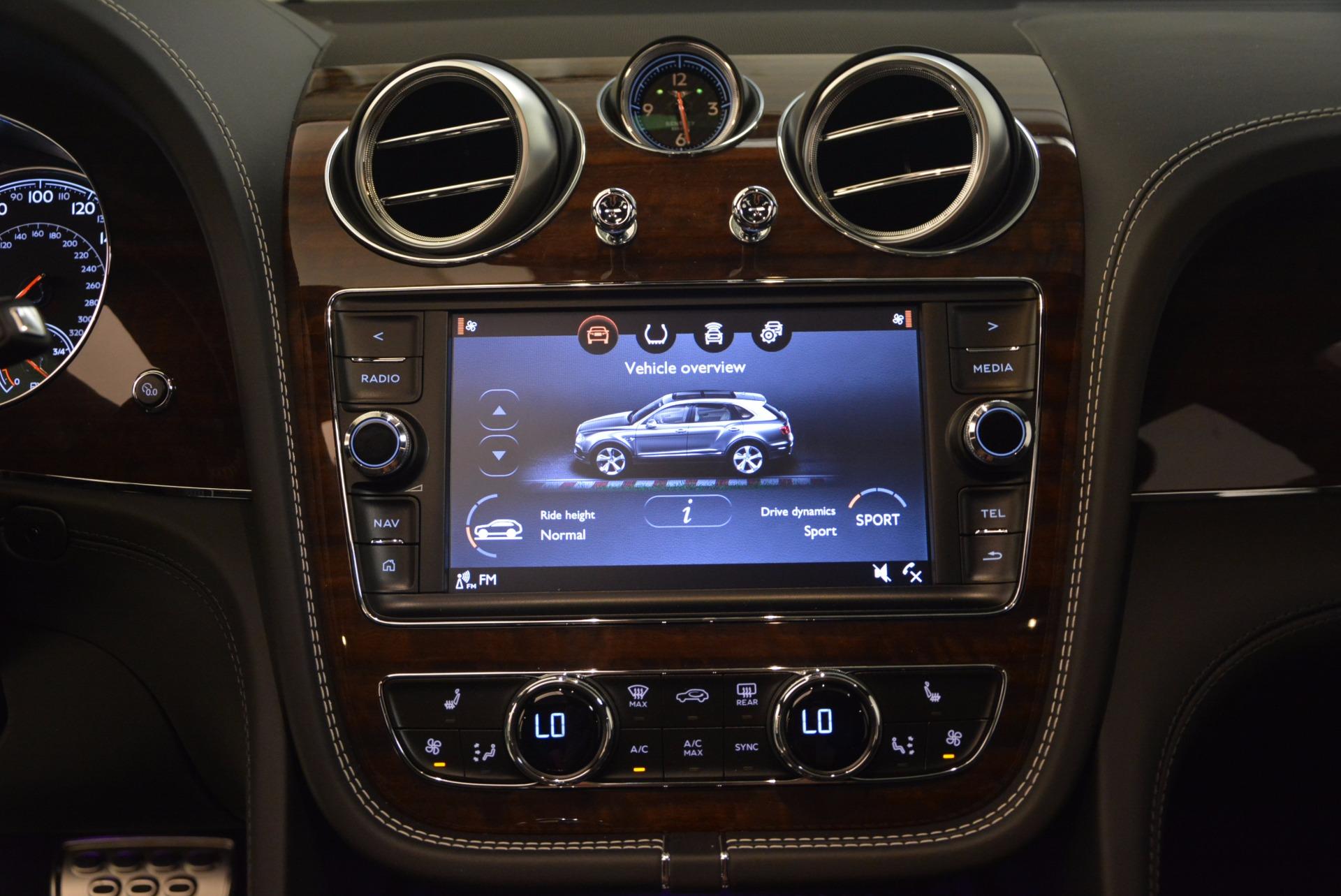 New 2018 Bentley Bentayga Black Edition For Sale In Westport, CT 1431_p31