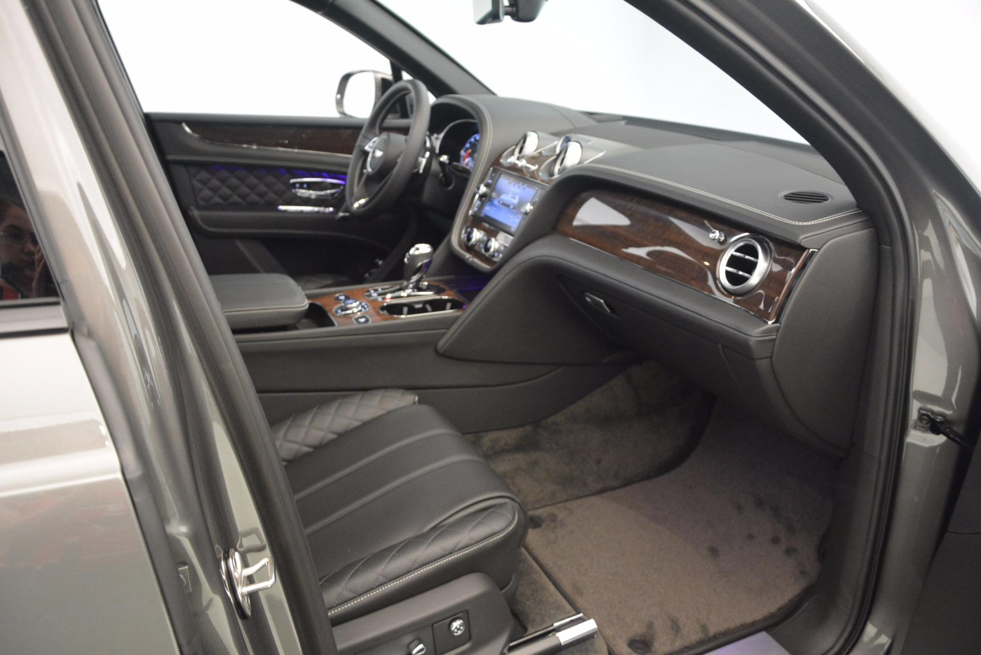 New 2018 Bentley Bentayga Black Edition For Sale In Westport, CT 1431_p35