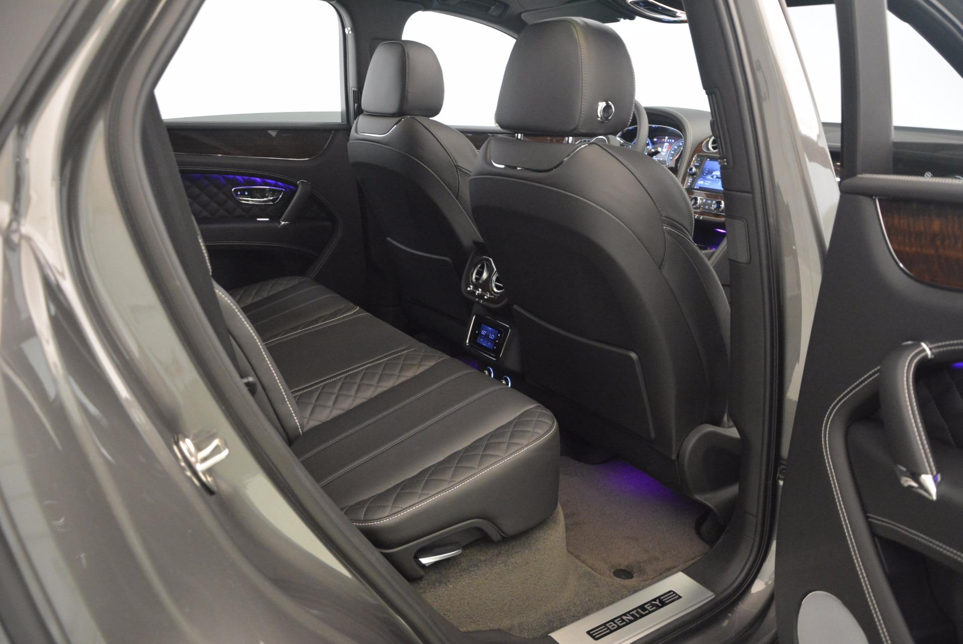 New 2018 Bentley Bentayga Black Edition For Sale In Westport, CT 1431_p37