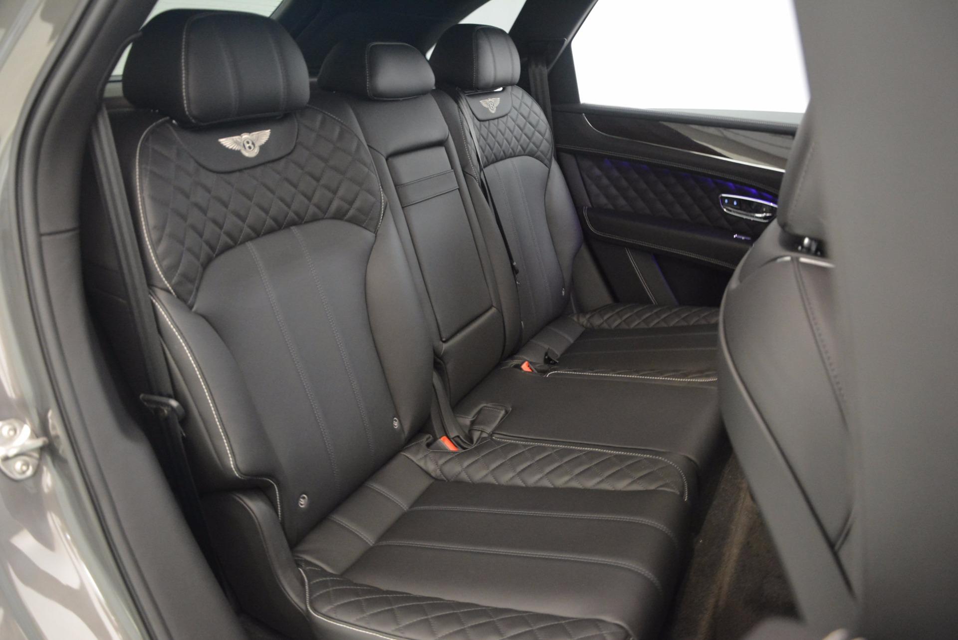 New 2018 Bentley Bentayga Black Edition For Sale In Westport, CT 1431_p38