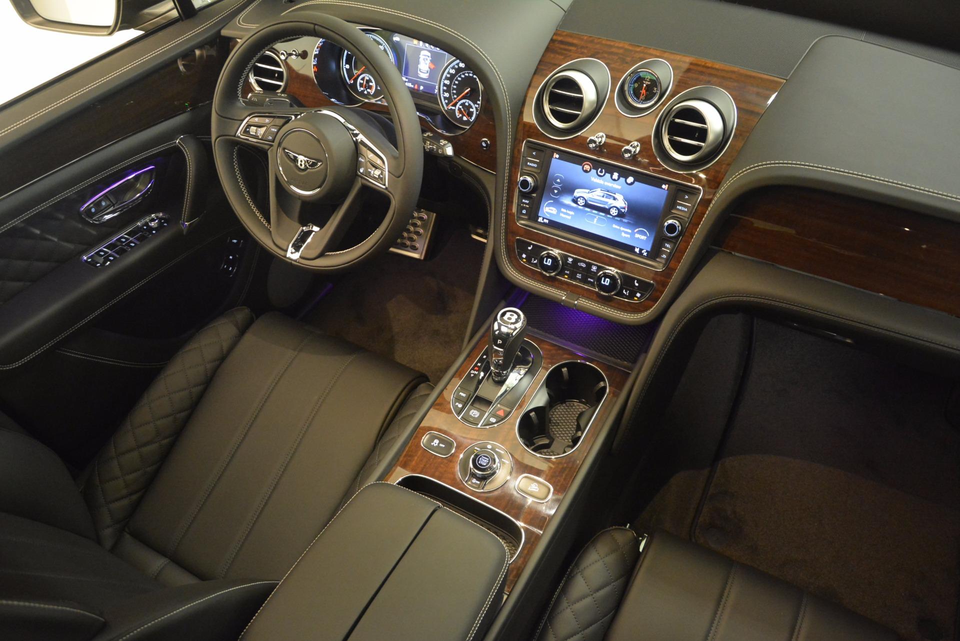 New 2018 Bentley Bentayga Black Edition For Sale In Westport, CT 1431_p39