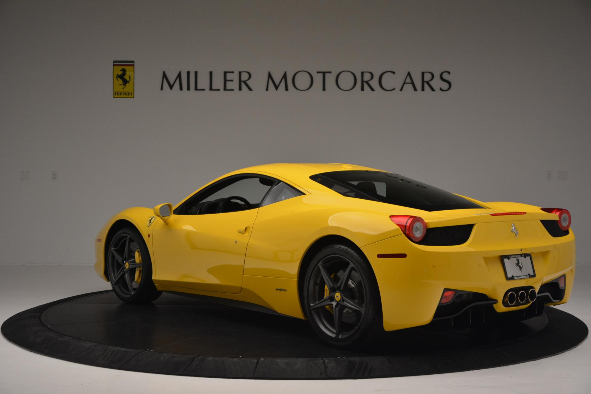 Used 2011 Ferrari 458 Italia  For Sale In Westport, CT 144_p5